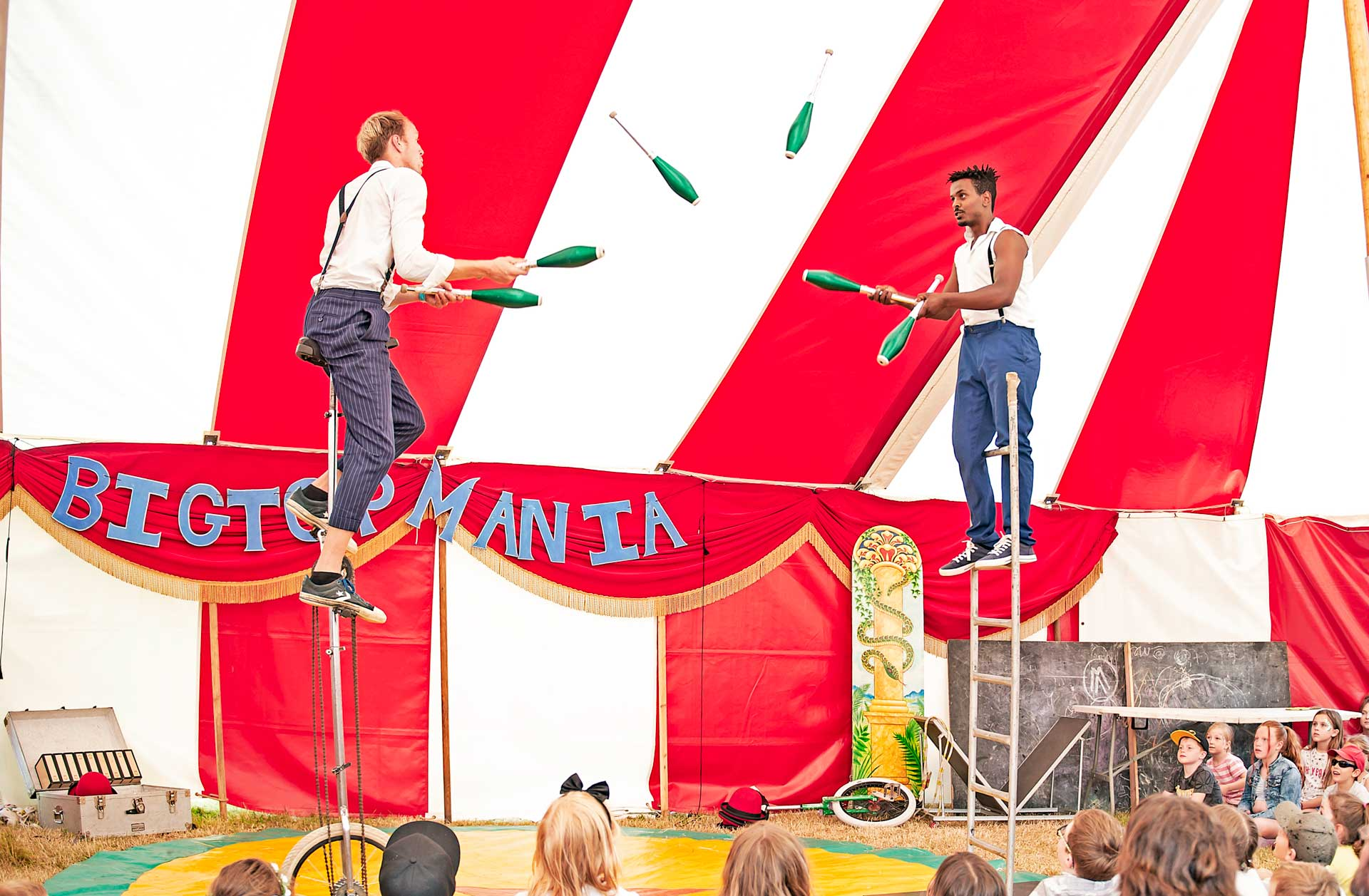 Book a circus show here in the uk