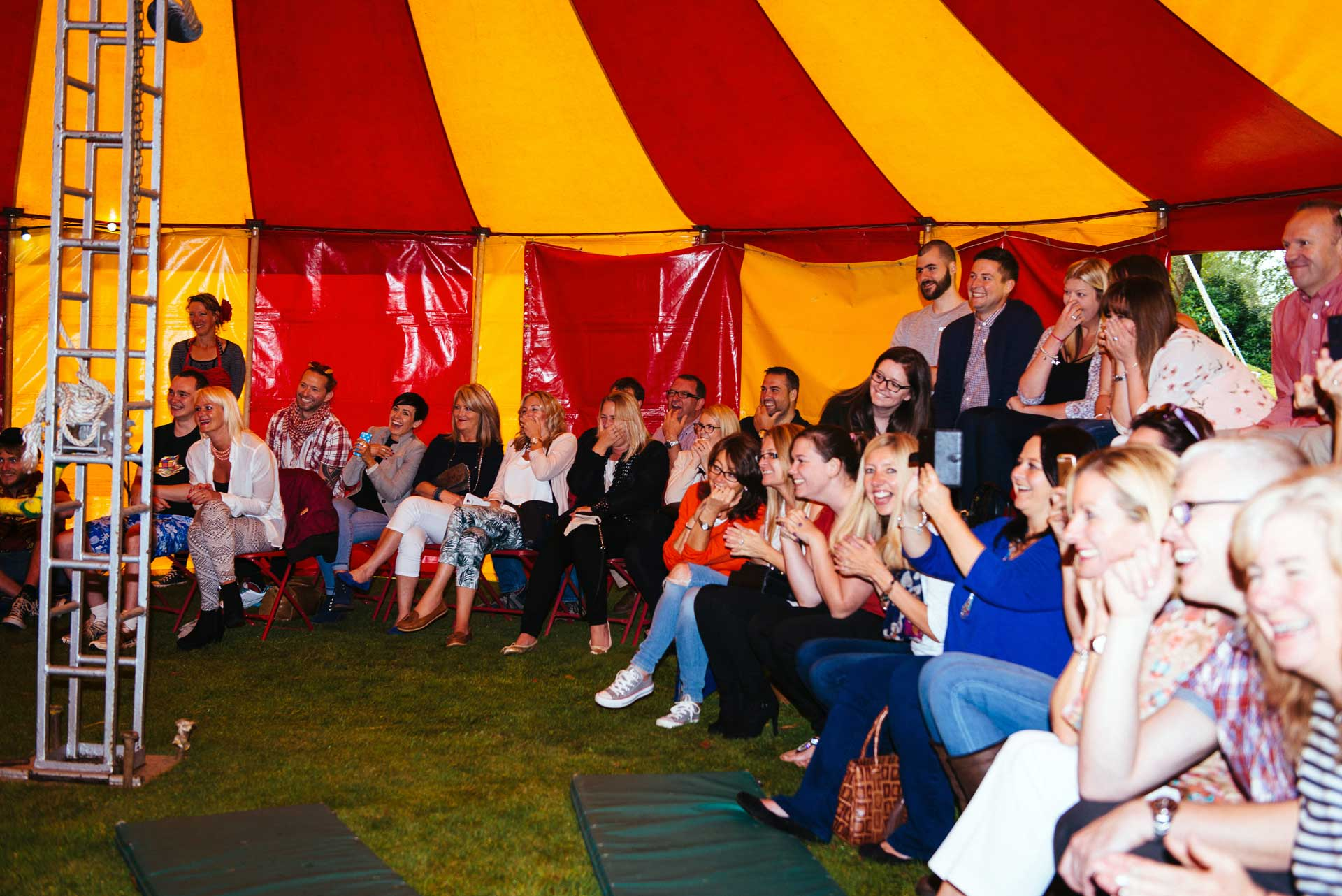 small side show circus hire for events in the uk