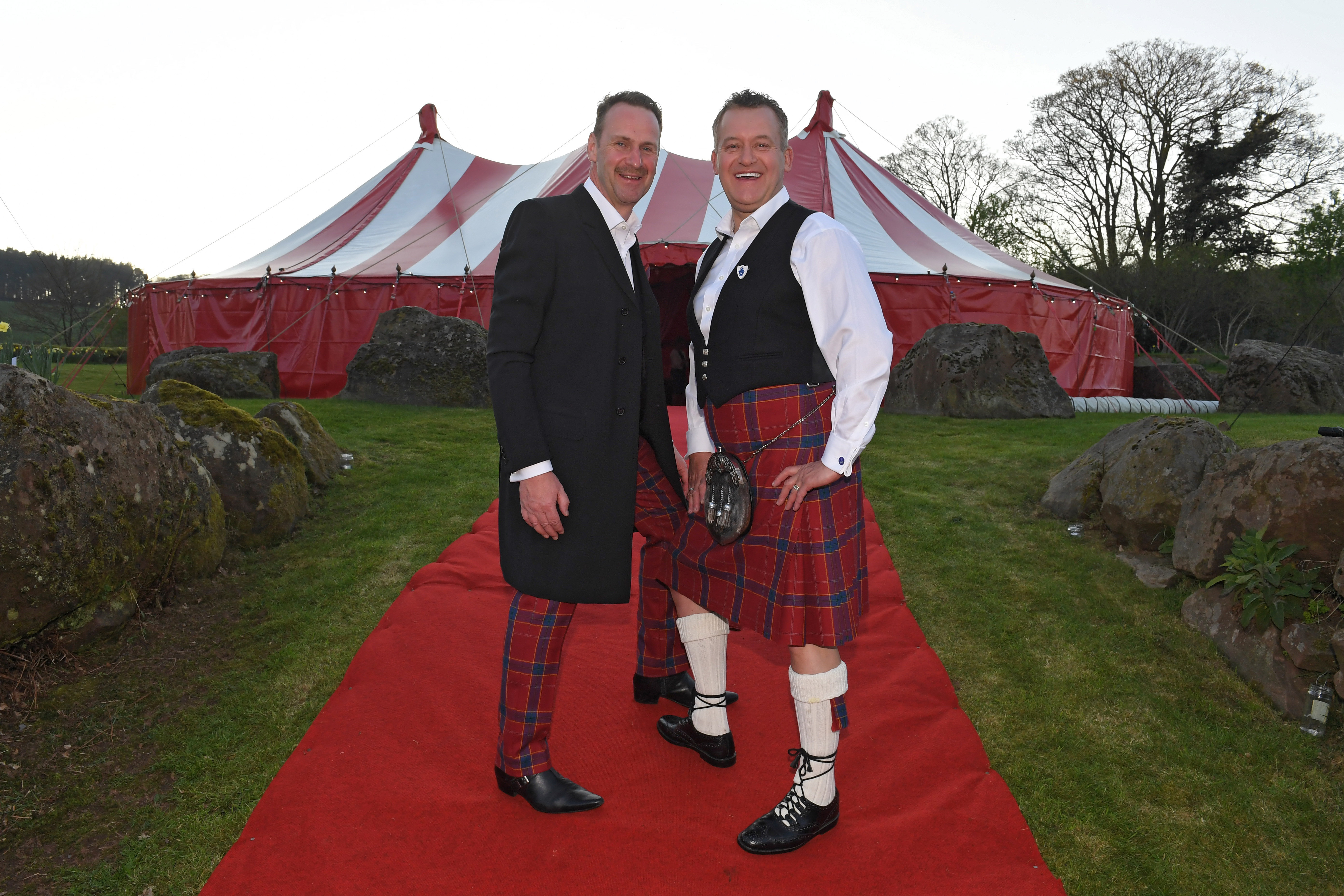 Same sex wedding party tent hire Cheshire