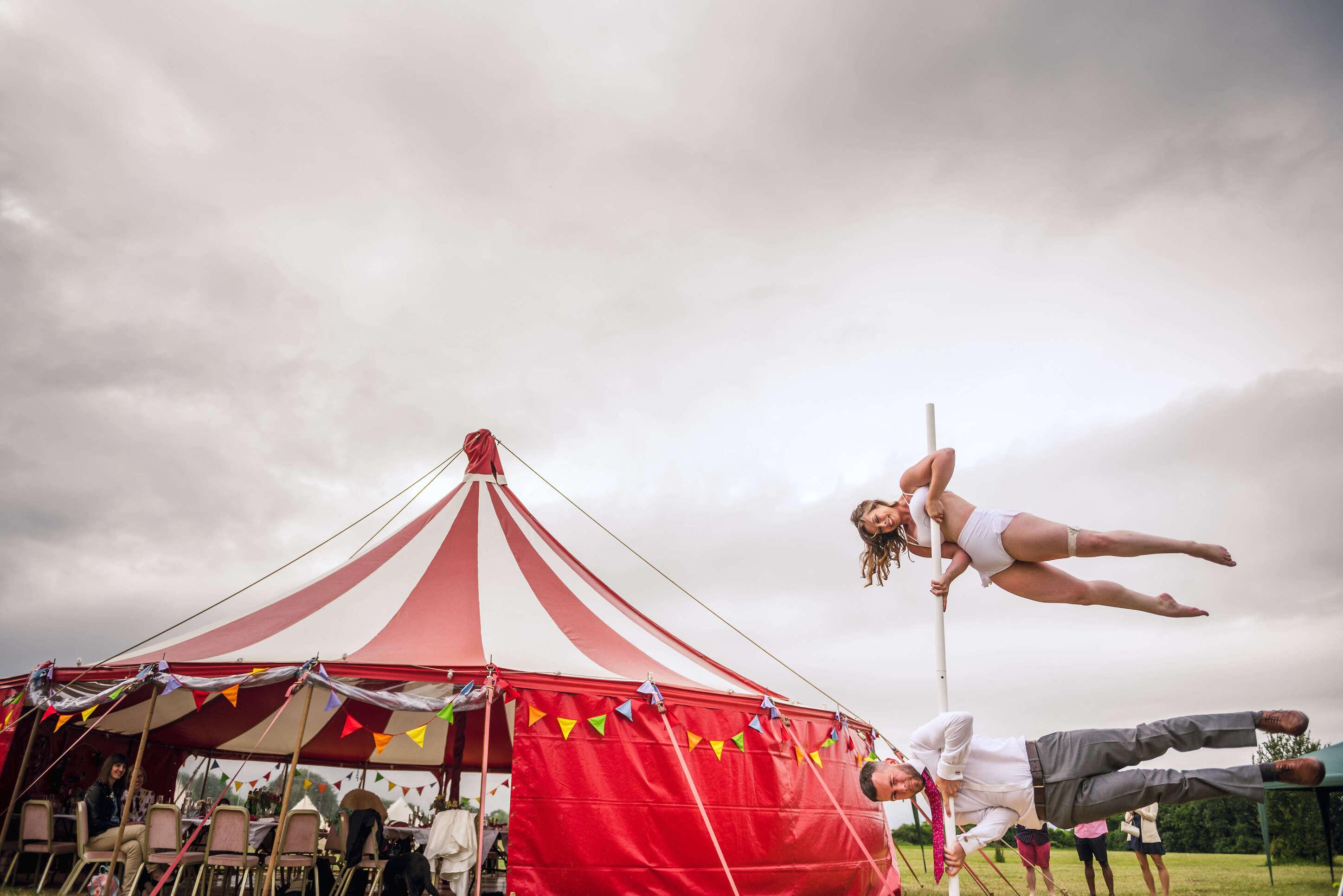 Circus Wedding tent