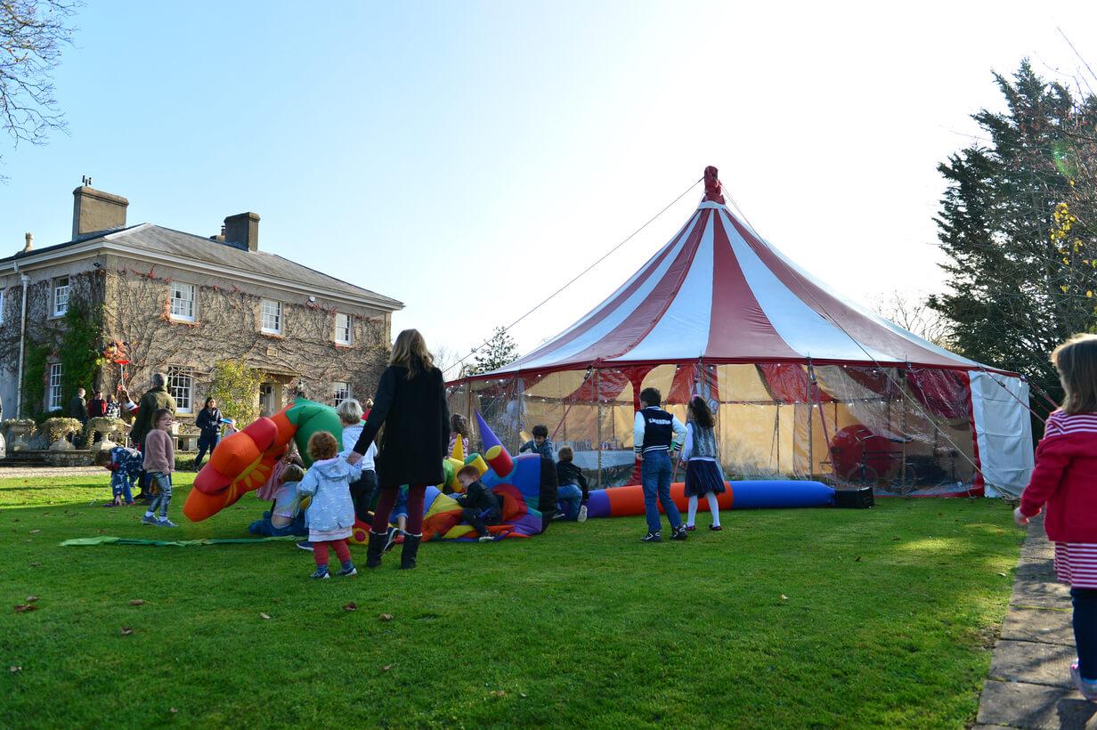 Children's circus birthday party