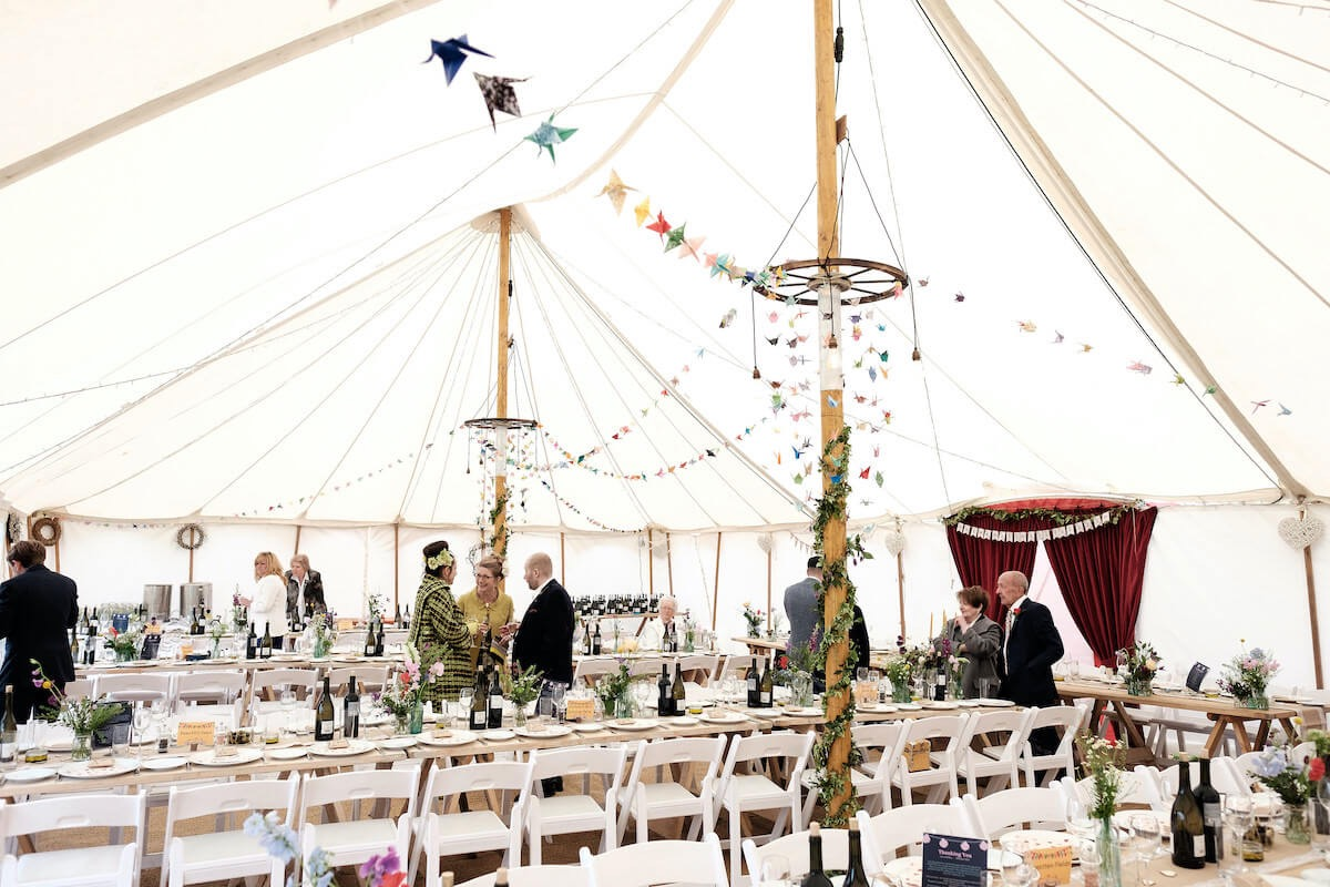 Best wedding marquee hire in Cornwall