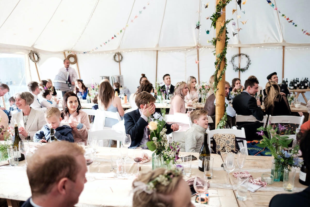 Wedding marquee hire in Devon and Cornwall