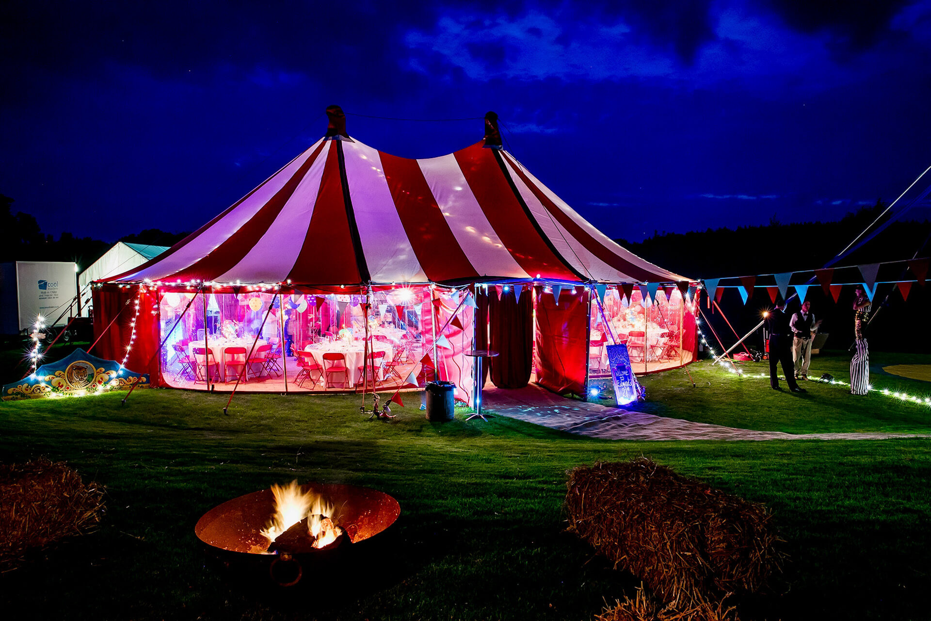 Circus themed 21st birthday party