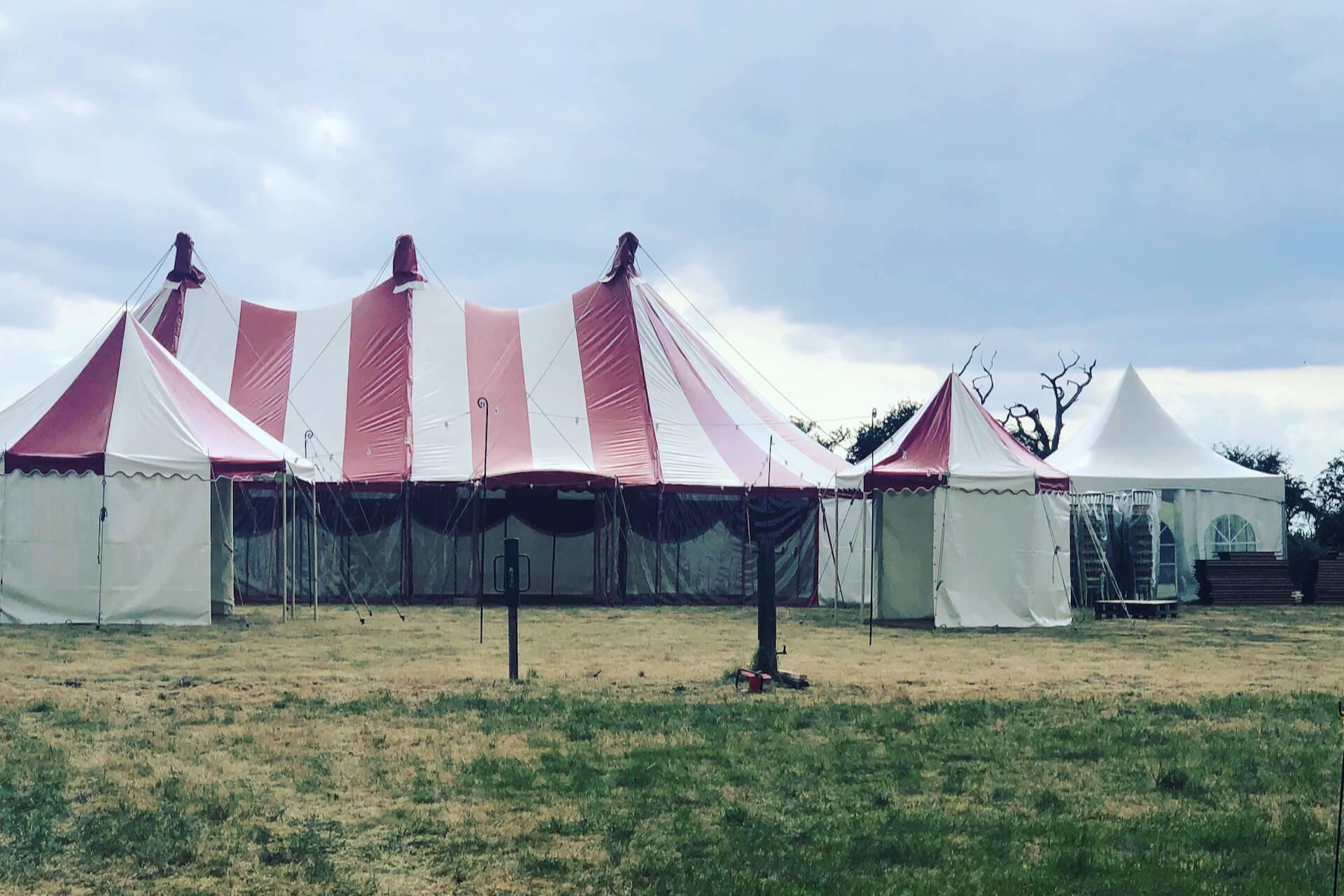 Festival wedding in Buckinghamshire