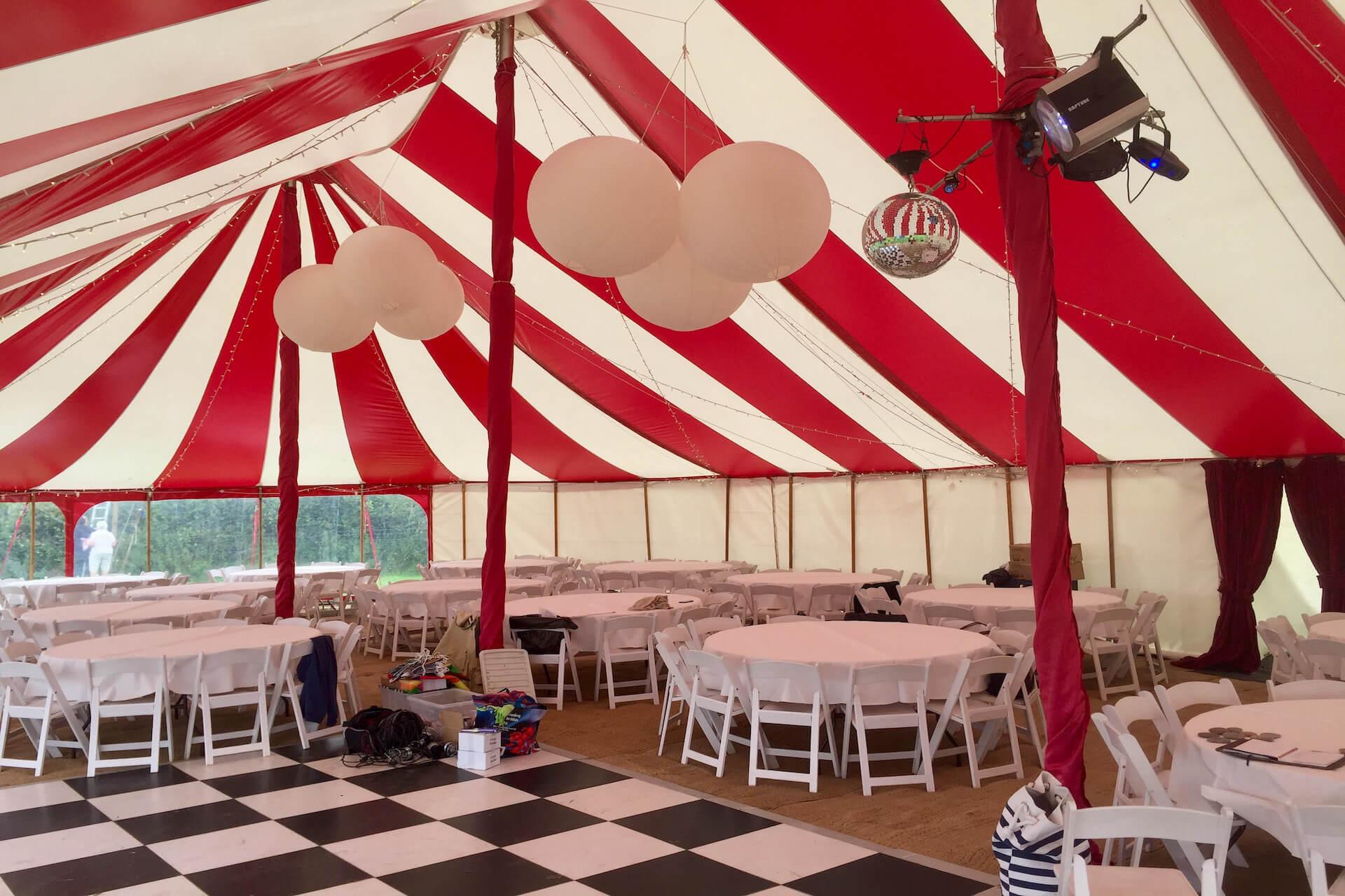 Festival theme wedding in Tavistock Devon