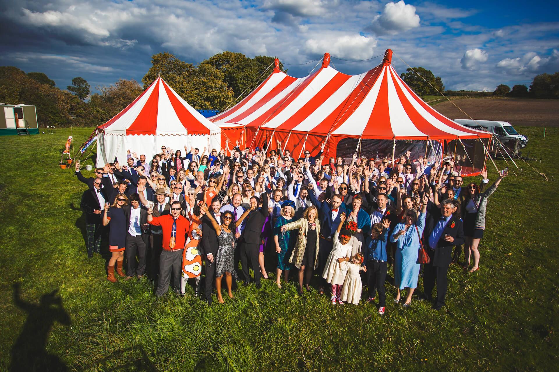 Big 'Wedfest' party