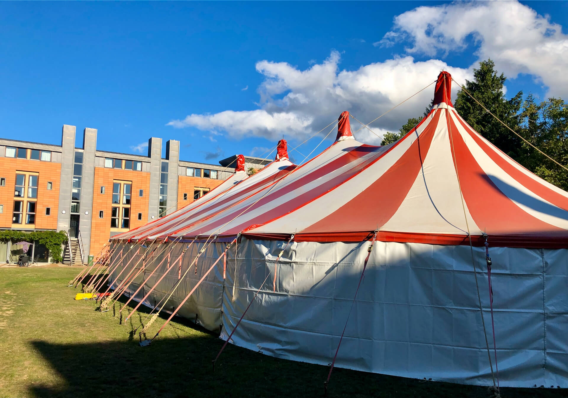 Oxford University marquee hire