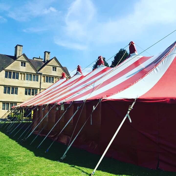 Wills Halls Bristol University marquee hire