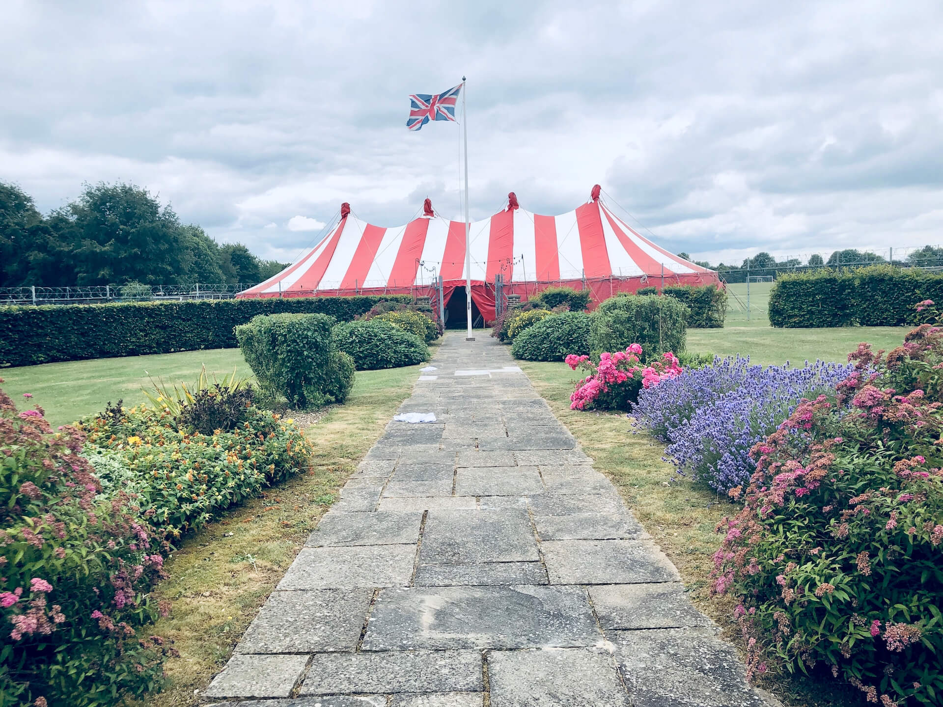Army function Summer Ball marquee supplier