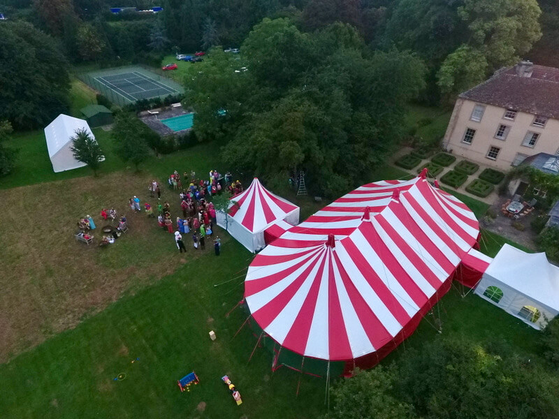 Best 21st birthday party marquee event