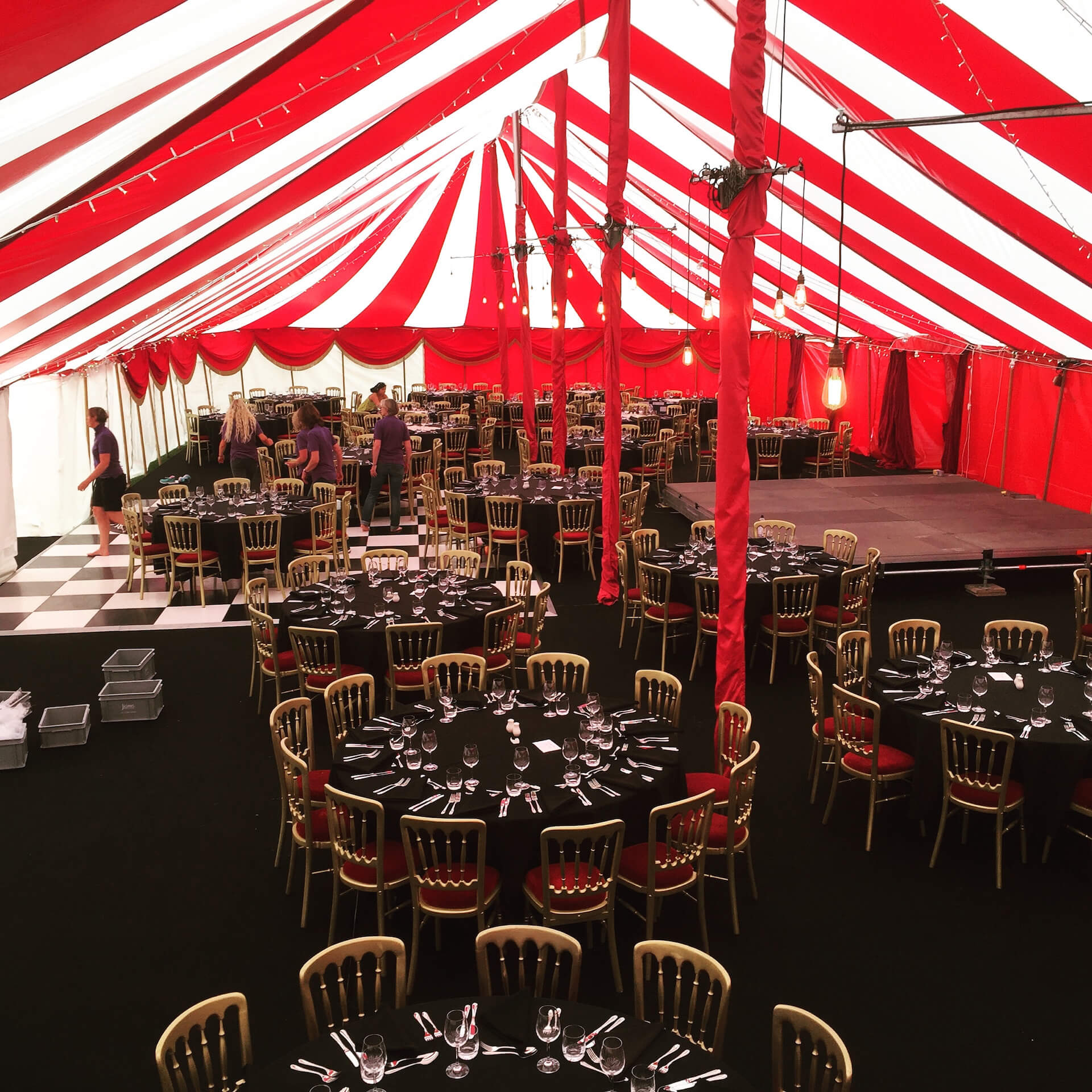 School PTA marquee Summer Ball Buckinghamshire