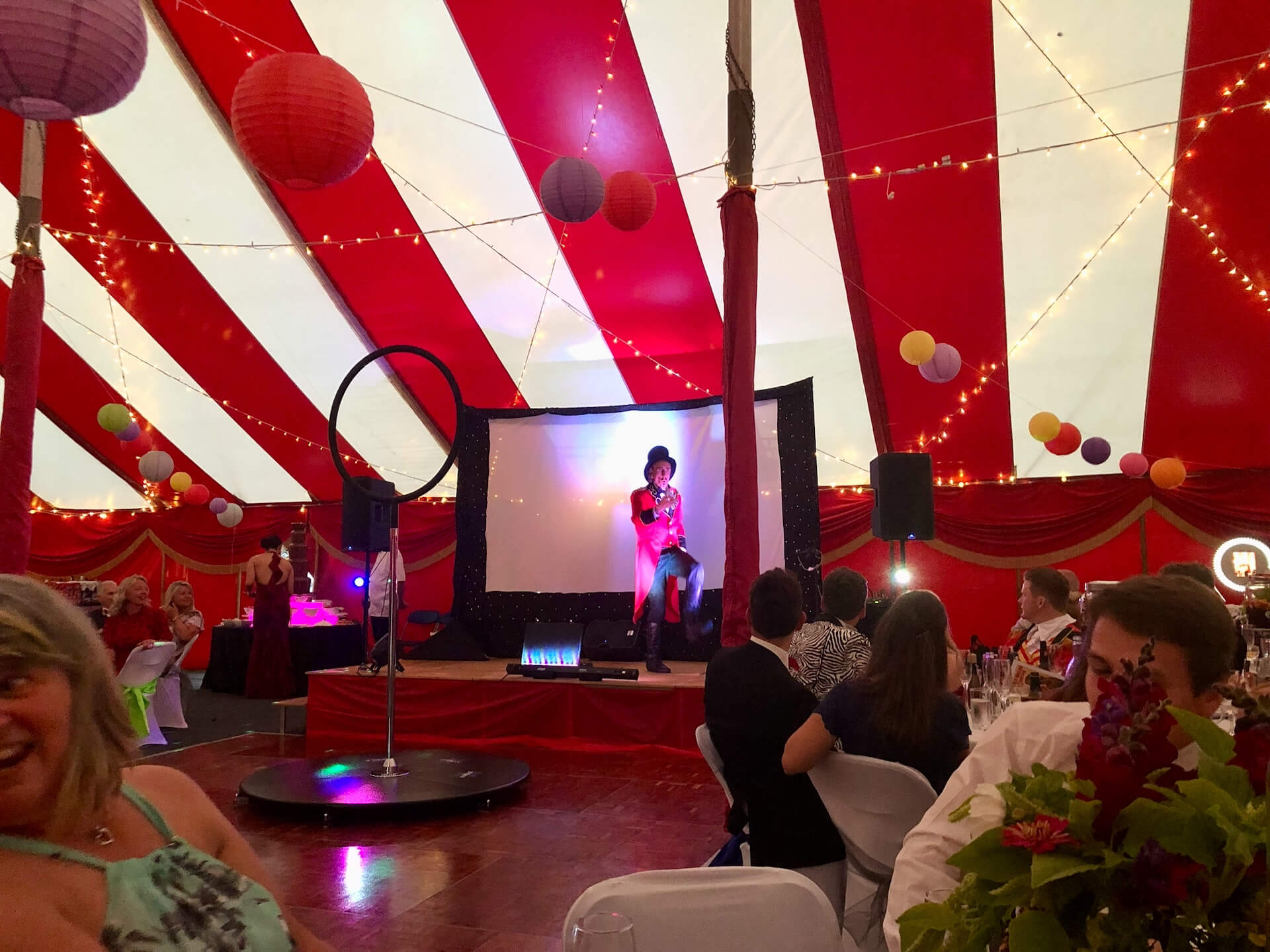Corporate circus theme event