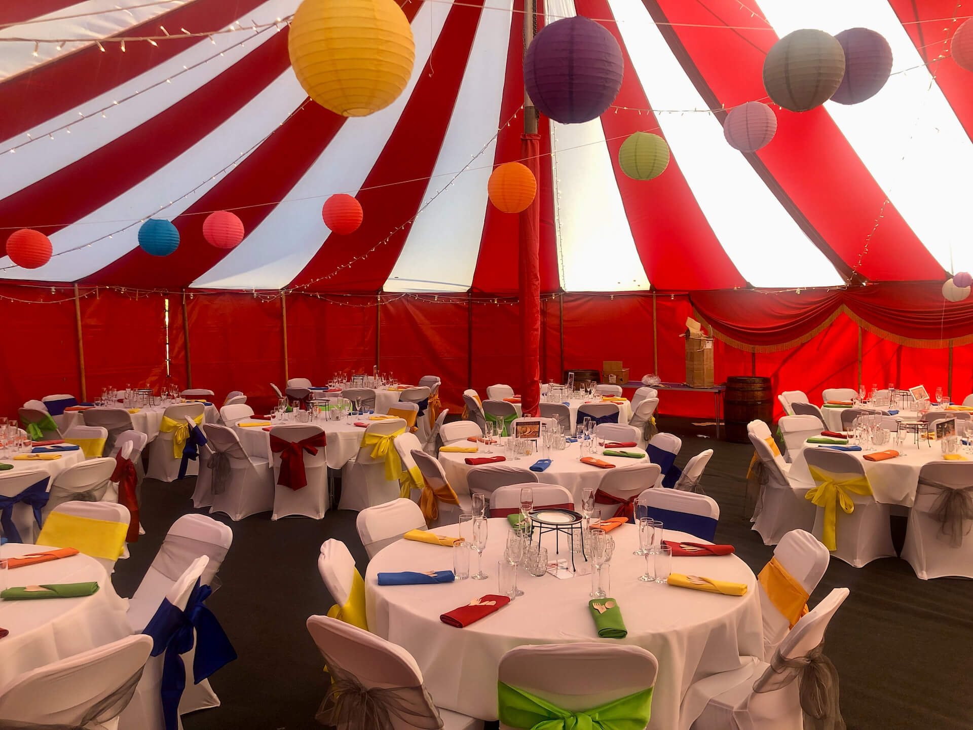 Army function marquee hire