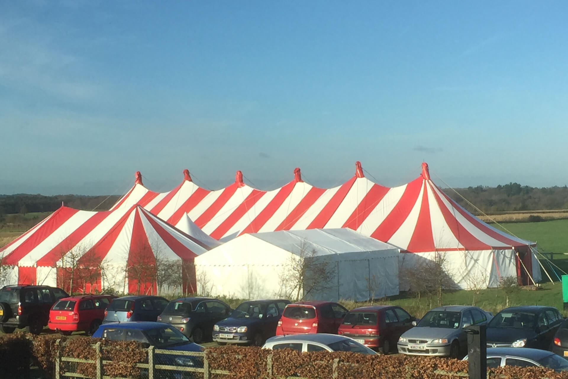 Company party marquees Hampshire