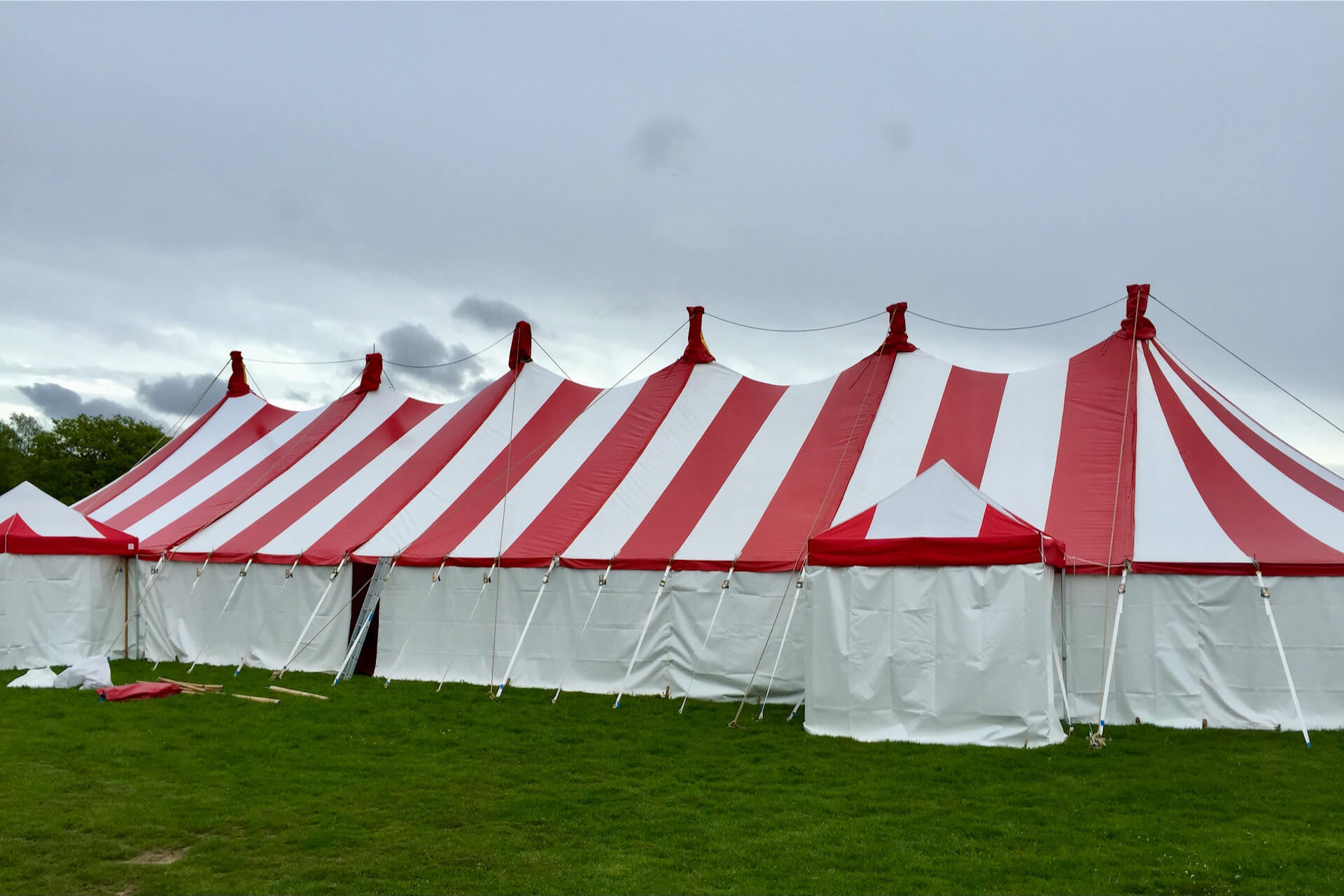 Squirty cream is a large big top for hire