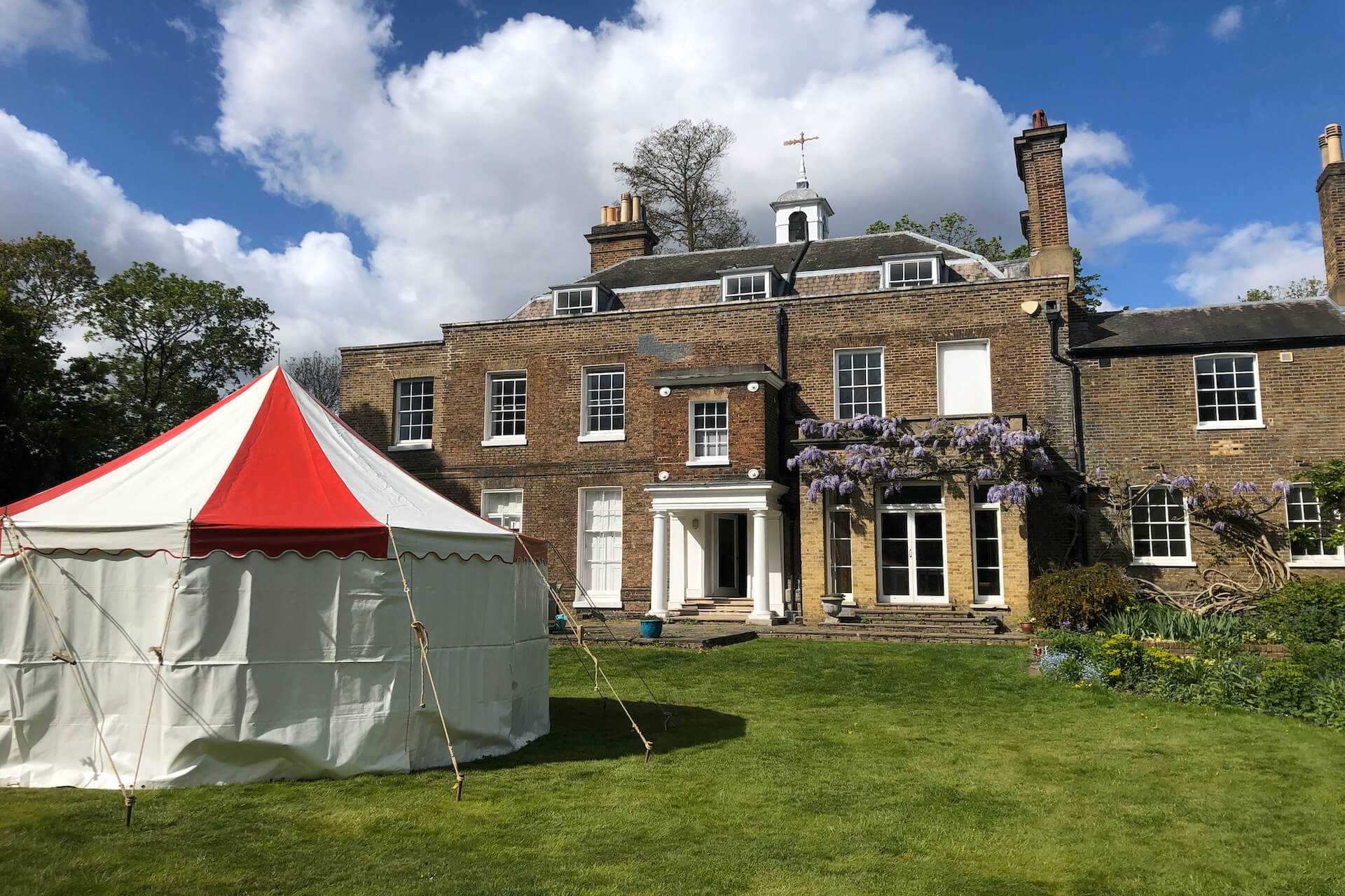 Garden party marquee hire in Dulwich London