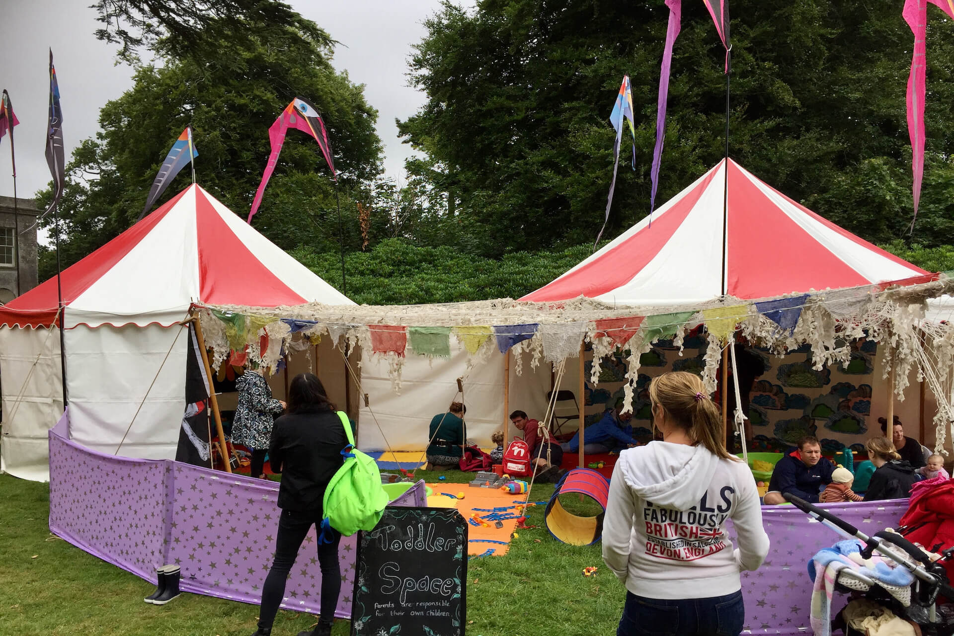 Festival under 5s play area at Camp Bestival