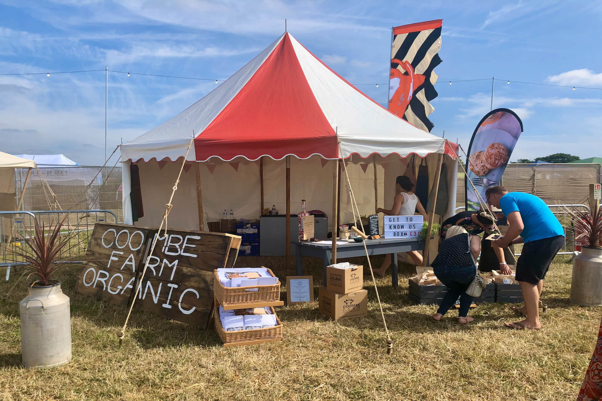 Festival stall hire