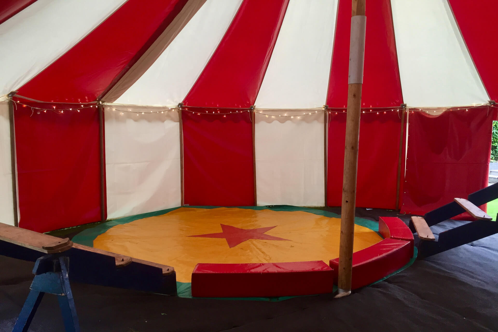 Small circus show