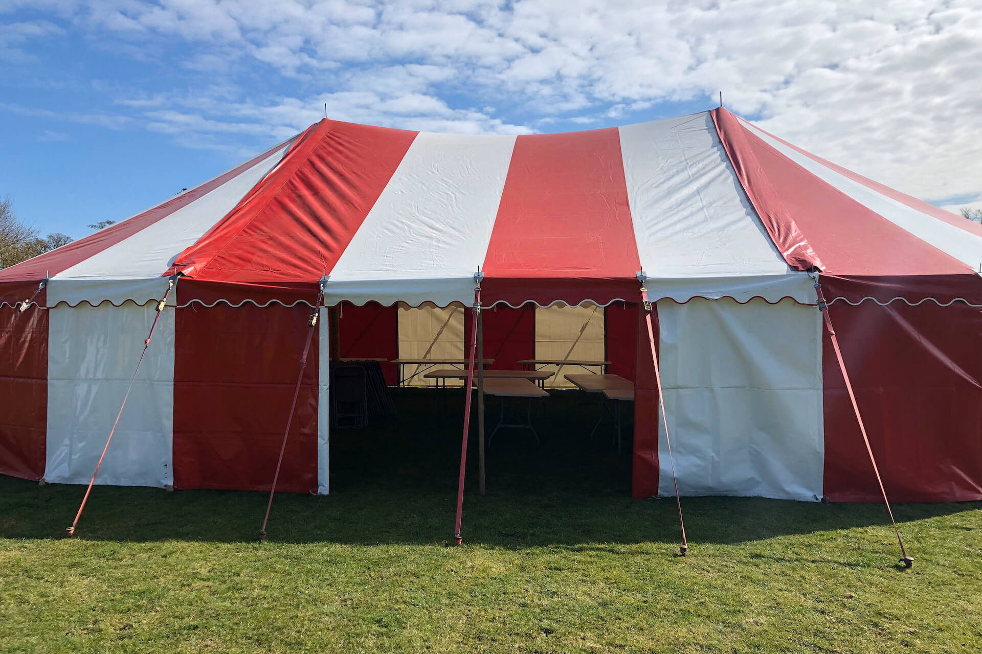 9m x 14.5m marquee hire