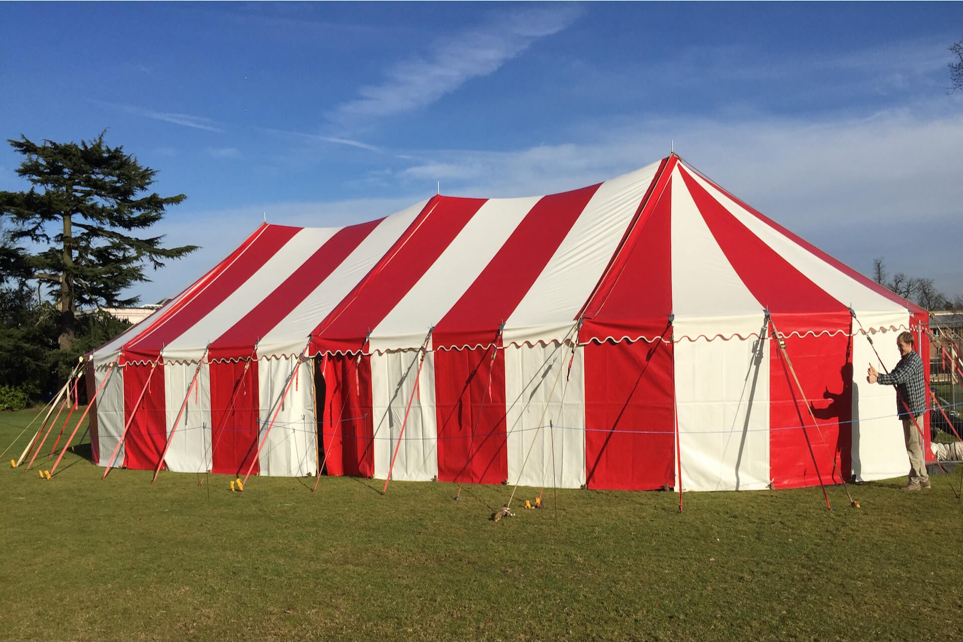 9m x 20m Candy bar marquee