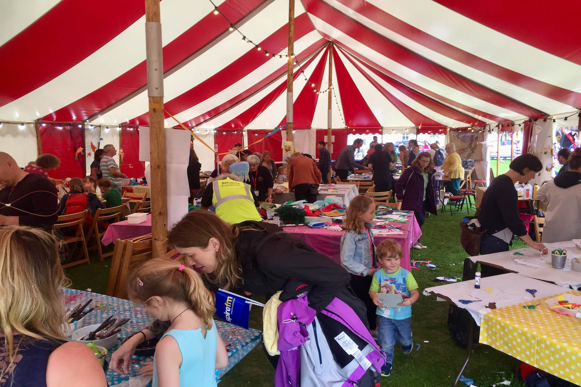 Salisbury festival children's play day