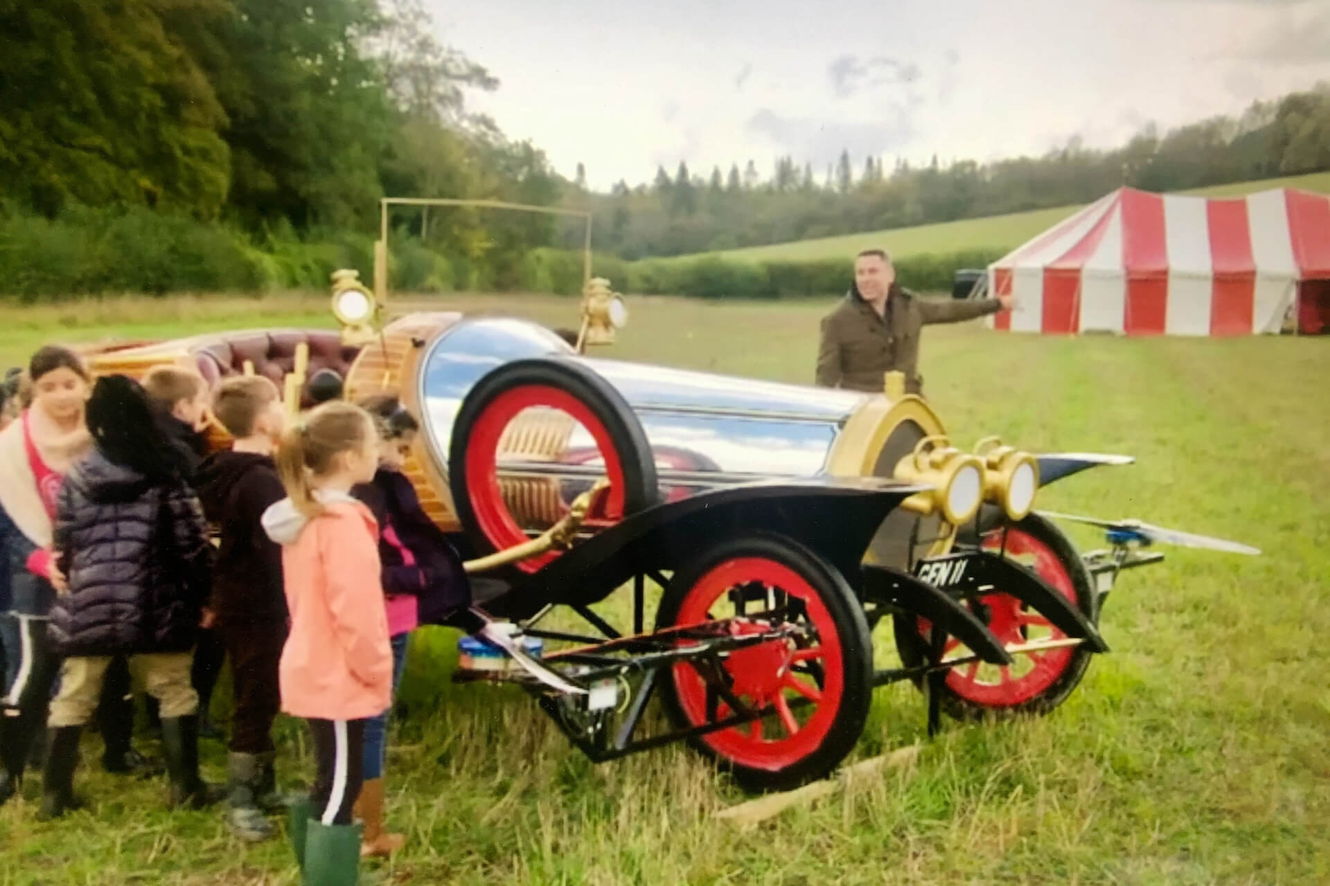Chitty flies again channel 4 documentary 2020