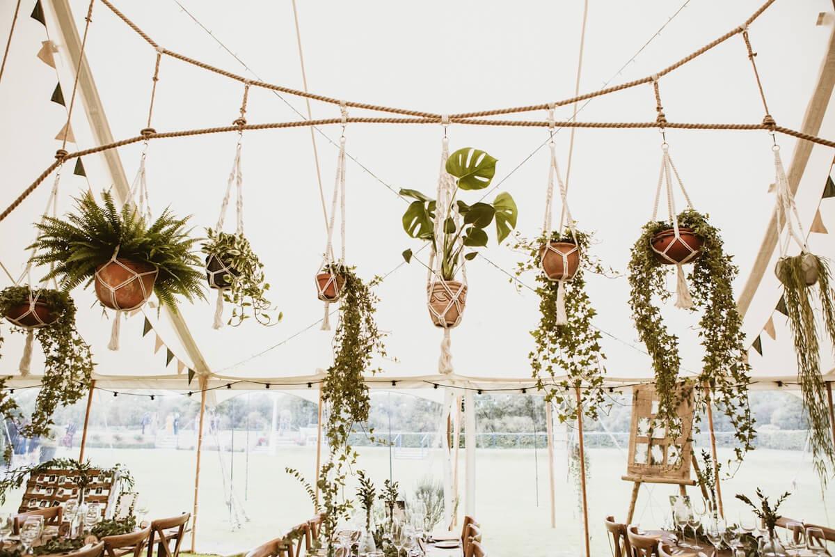 South Oxfordshire stylish wedding decorations