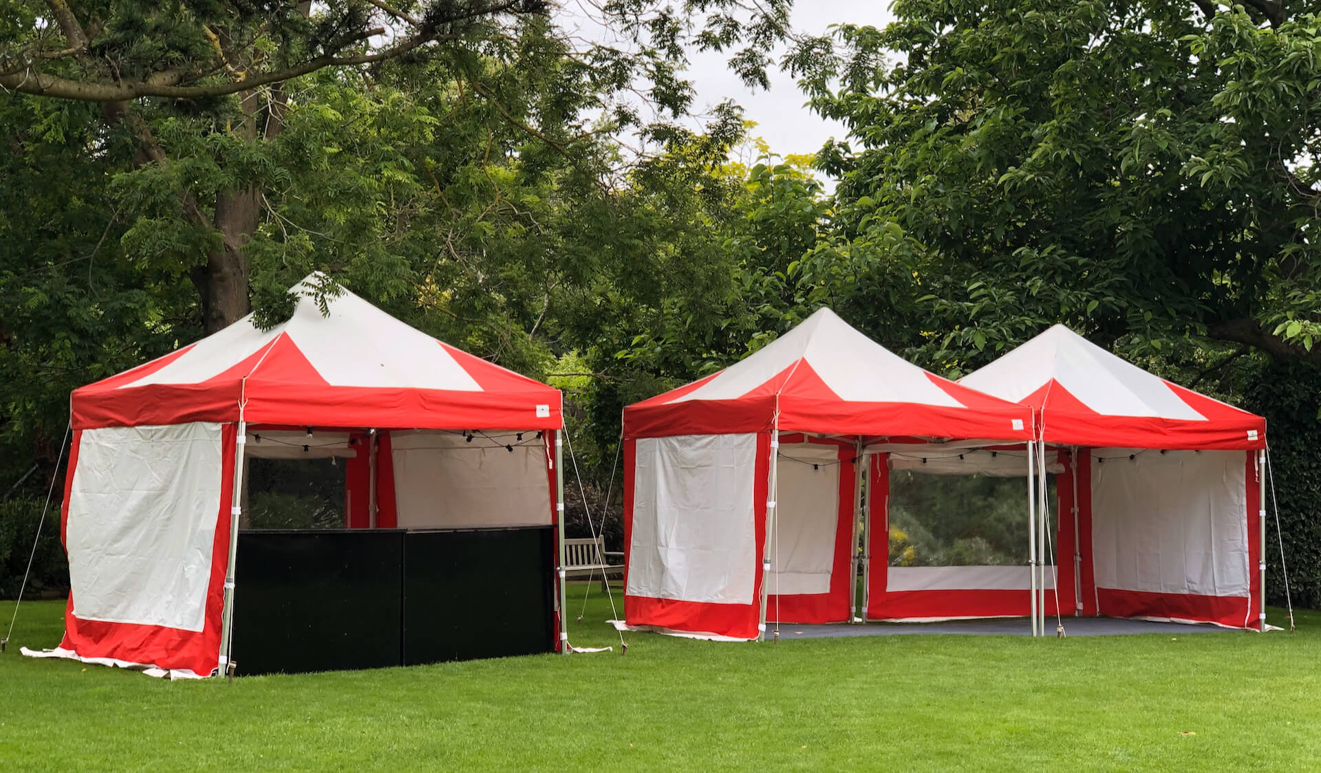Mini marquees for hire