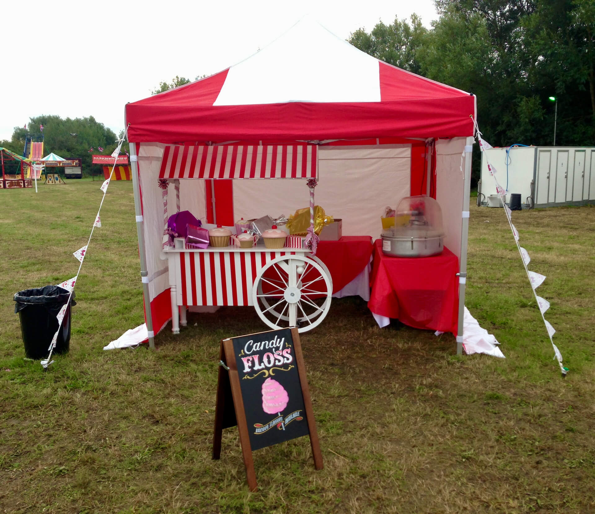 Candy floss stall hire