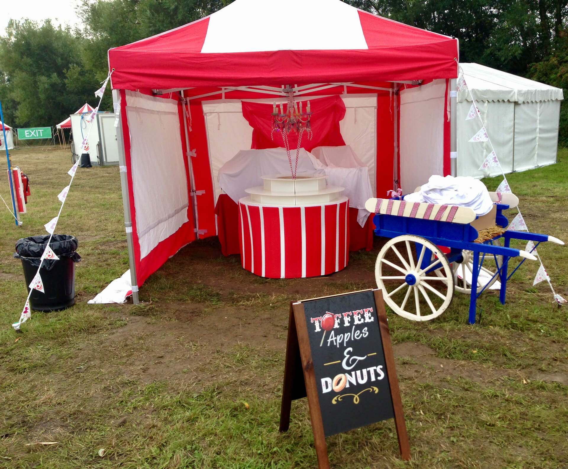 Toffee apple stall hire