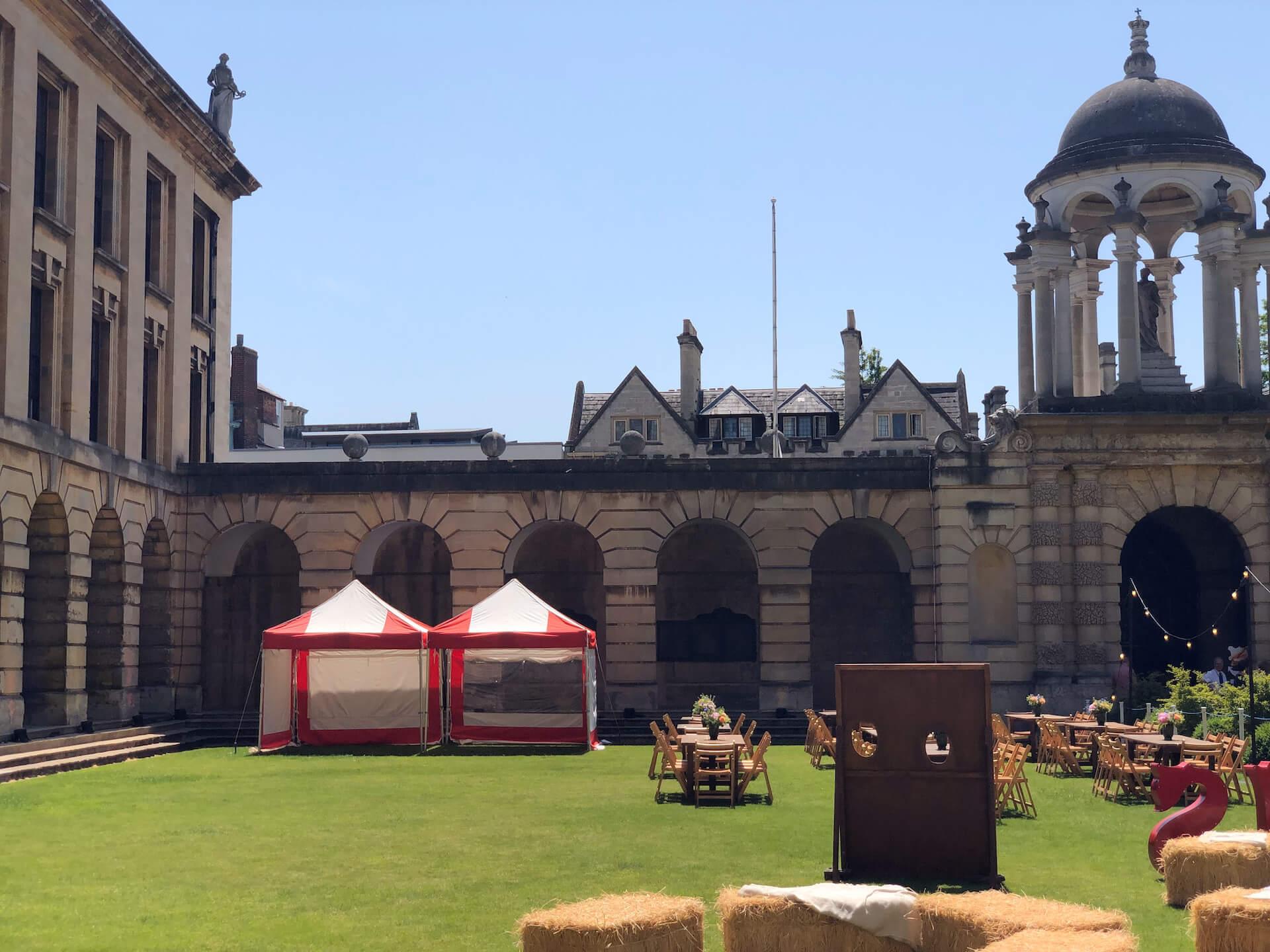 Gazebo hire in Oxford