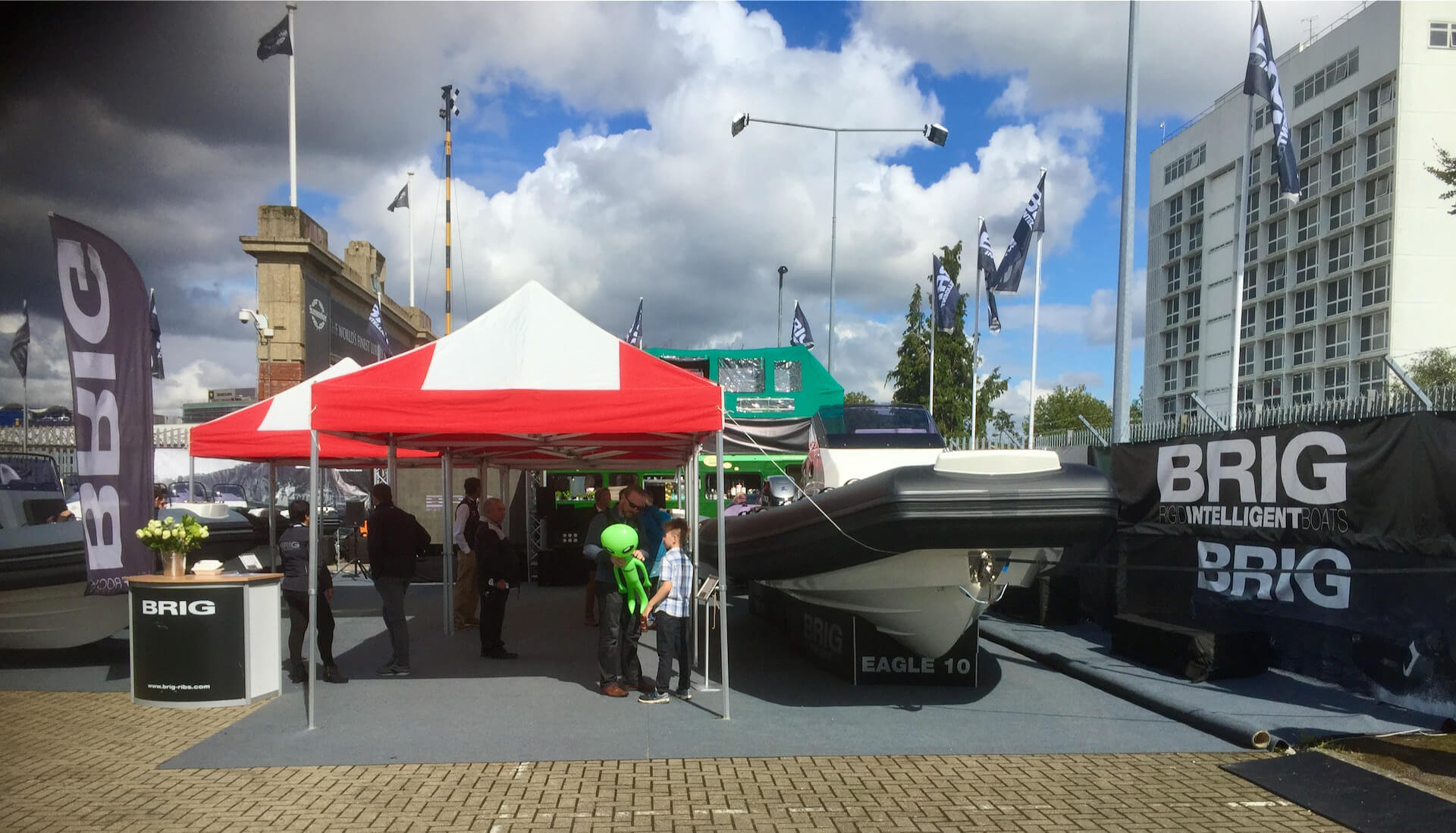 Exhibition stall hire