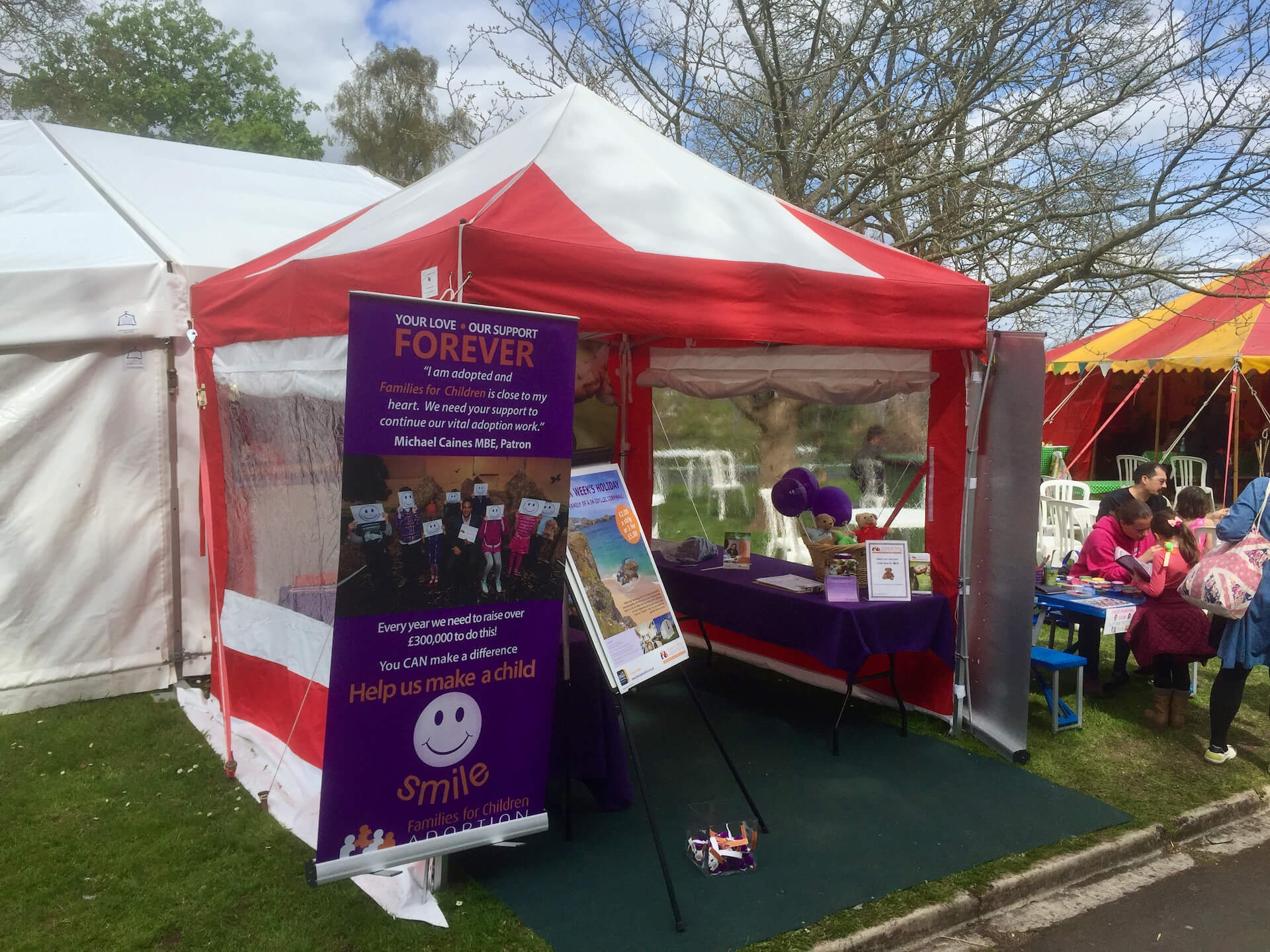 Easy up tent hire
