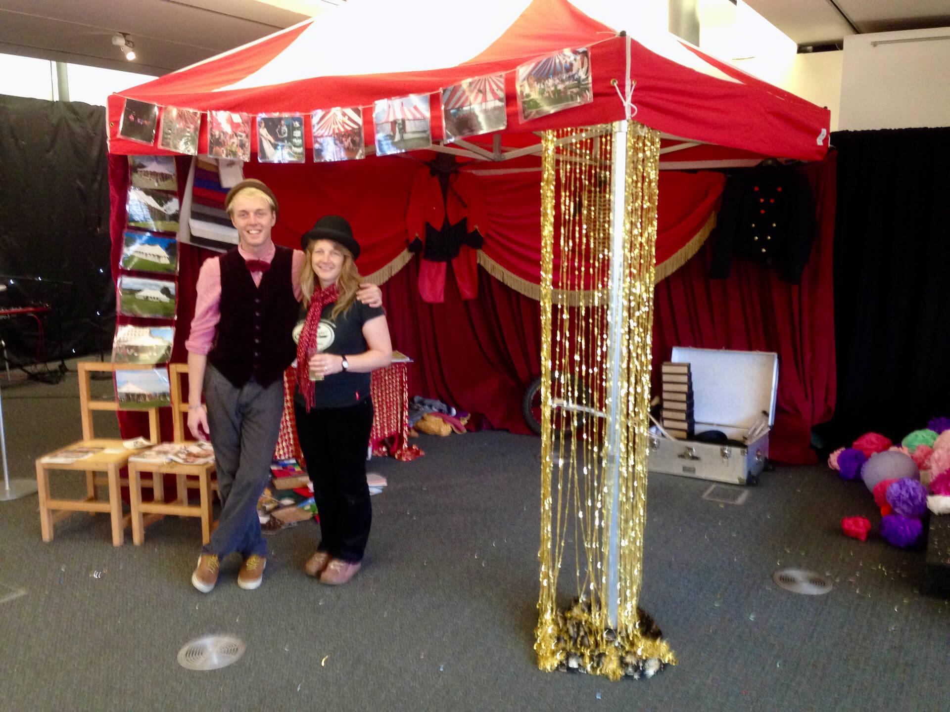 Indoor exhibition stand hire