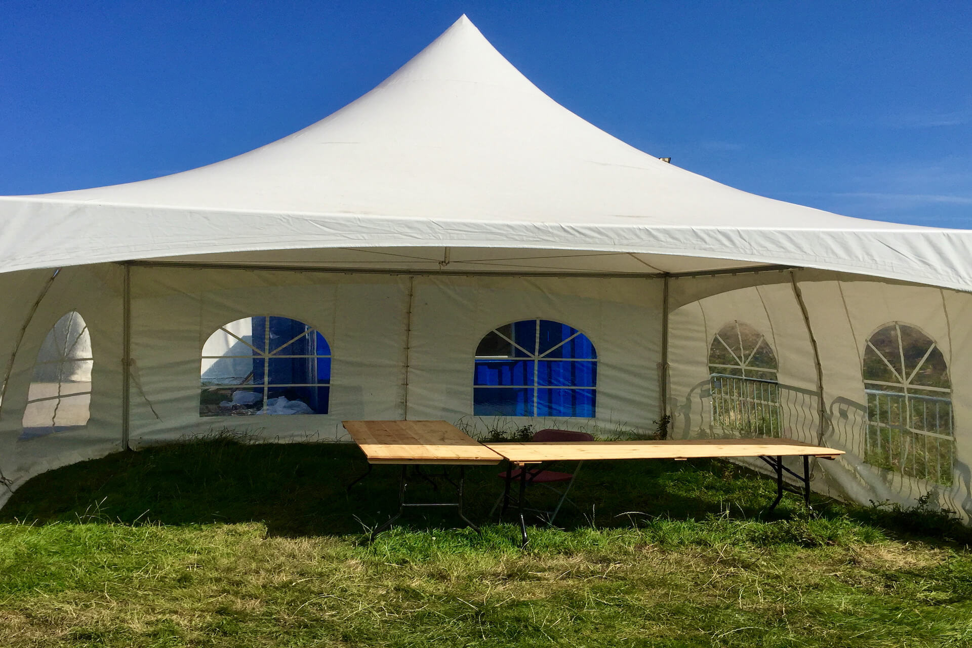5m x 5m pagoda marquee hire