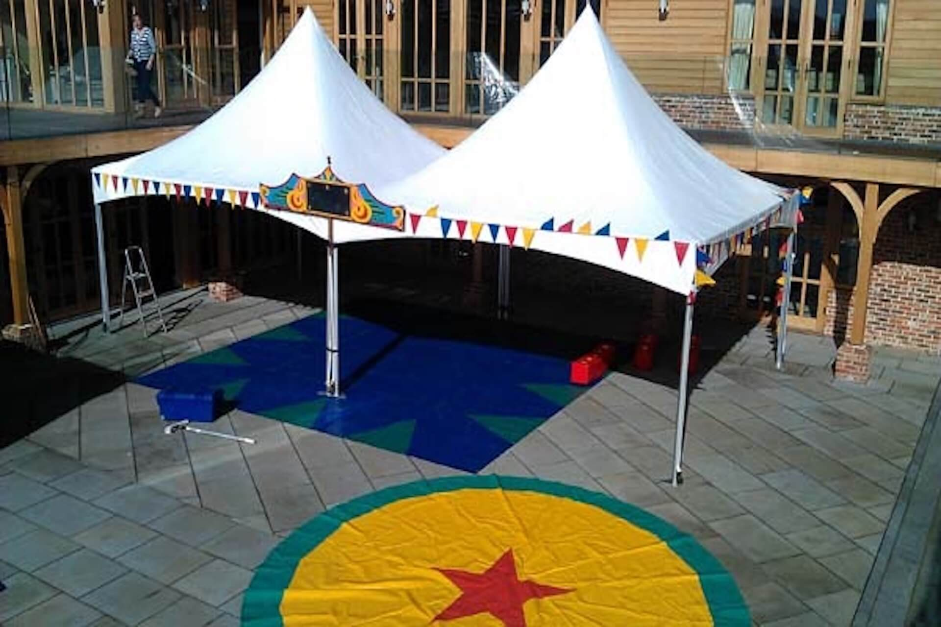 5m x 10m Pagoda marquee hire