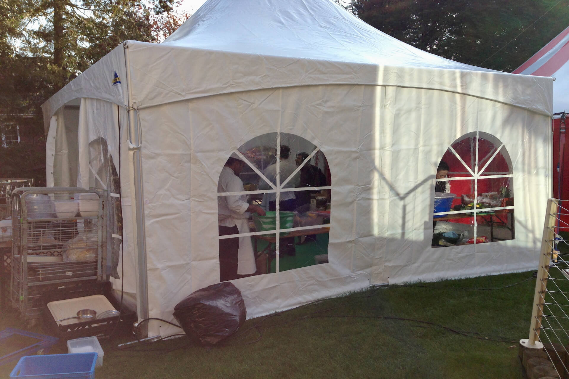 Catering tent hire