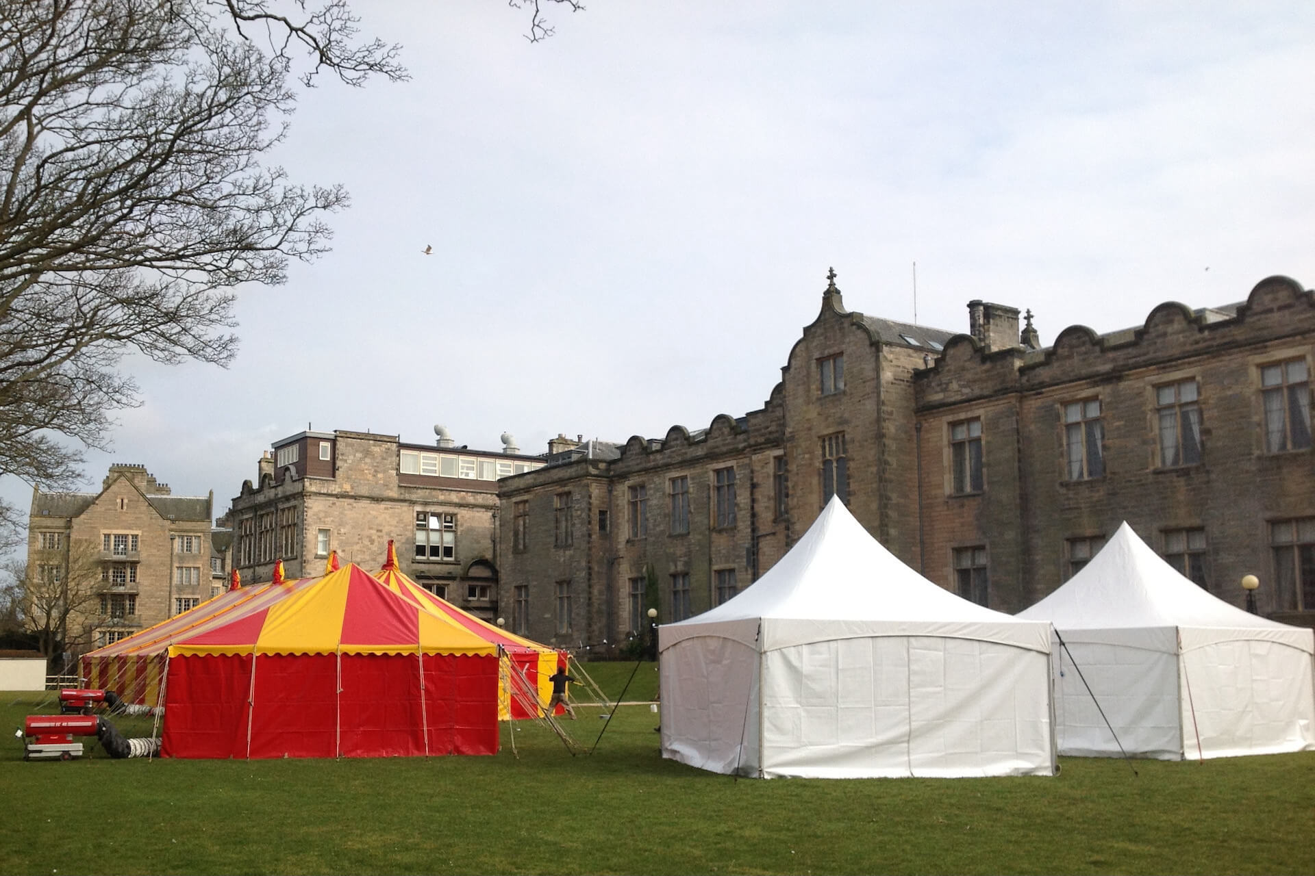 Event catering tents