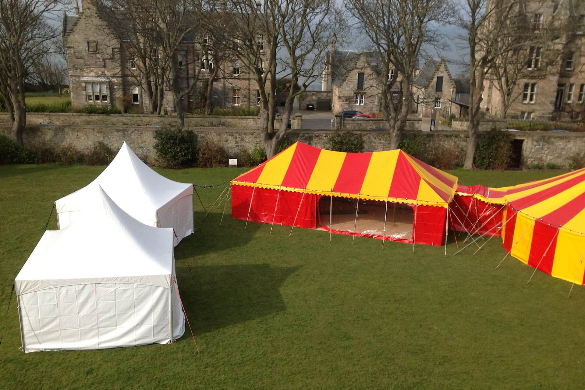 Student ball tents