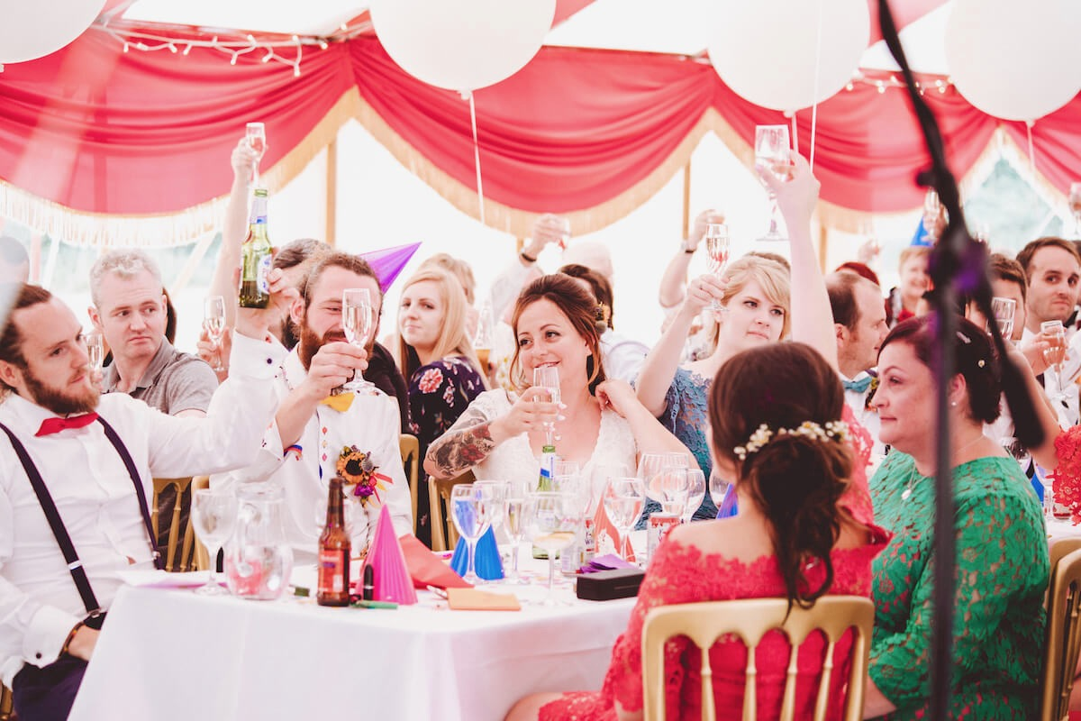 Best festival theme wedding party