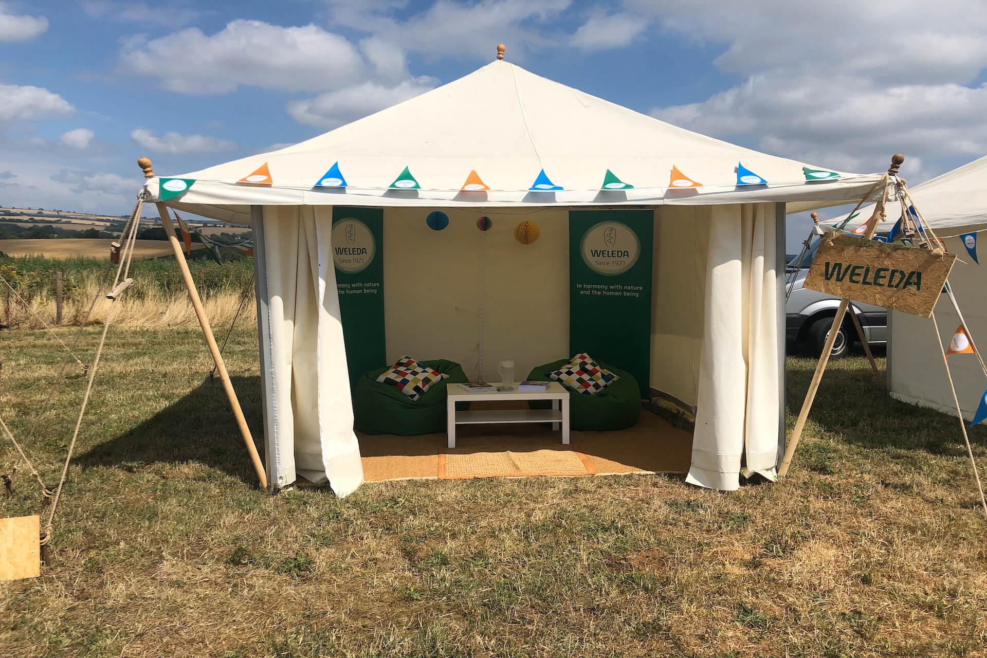 3x3m Tea Rose picnic tent