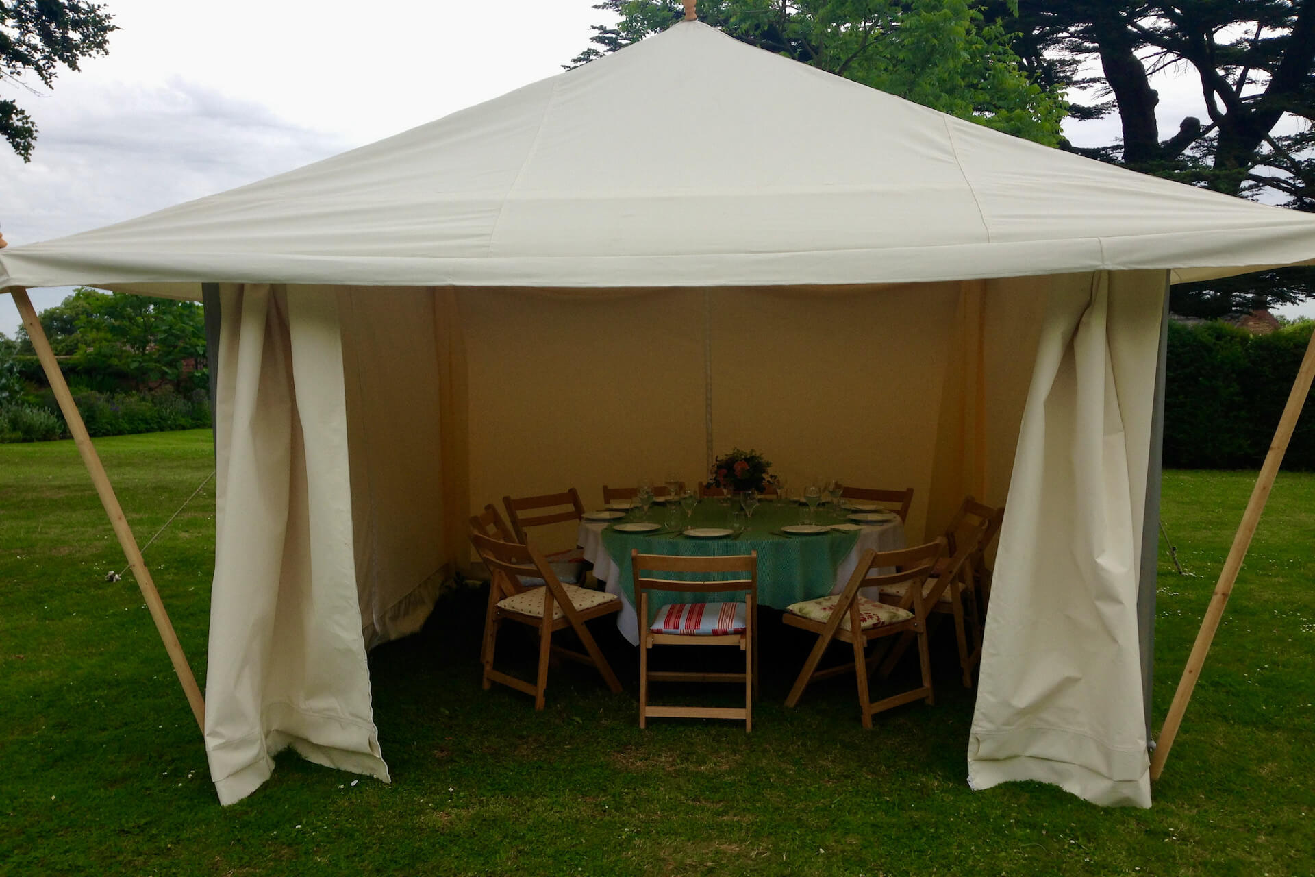 3m x 3m Tea Rose marquee