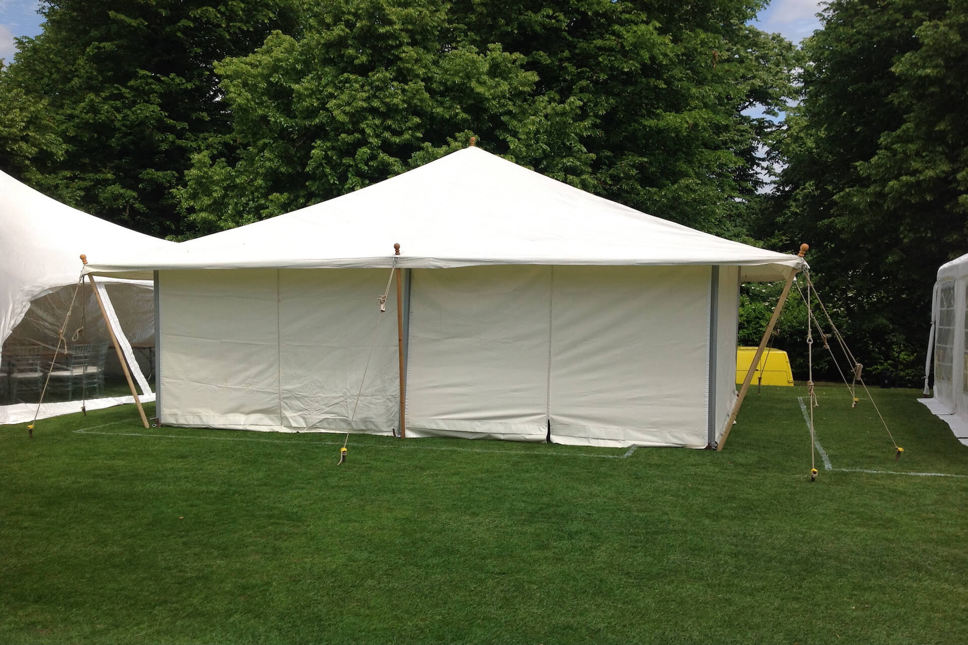 4m x 6m Tea Rose marquee