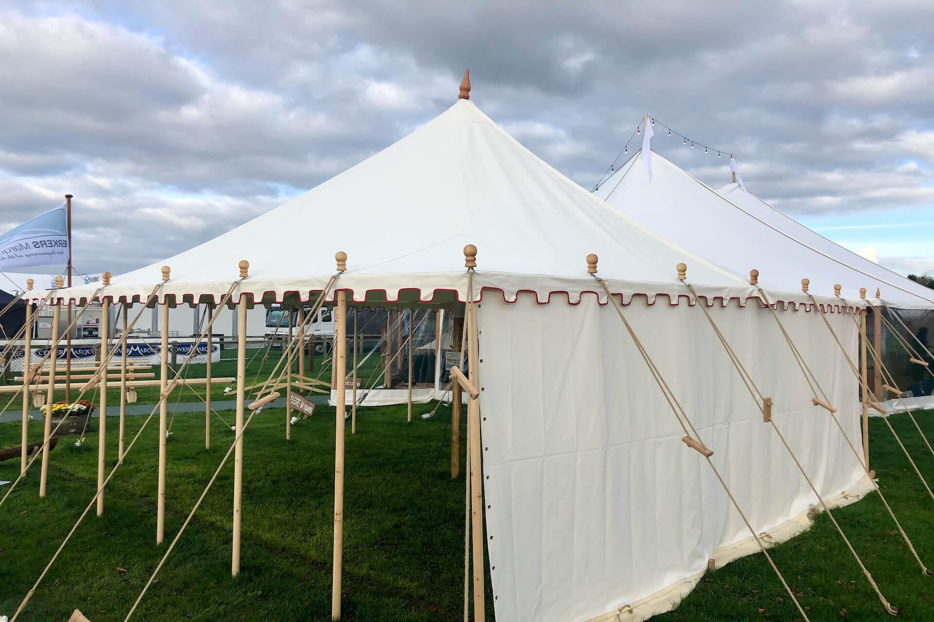 6x6m Canvas pole tent