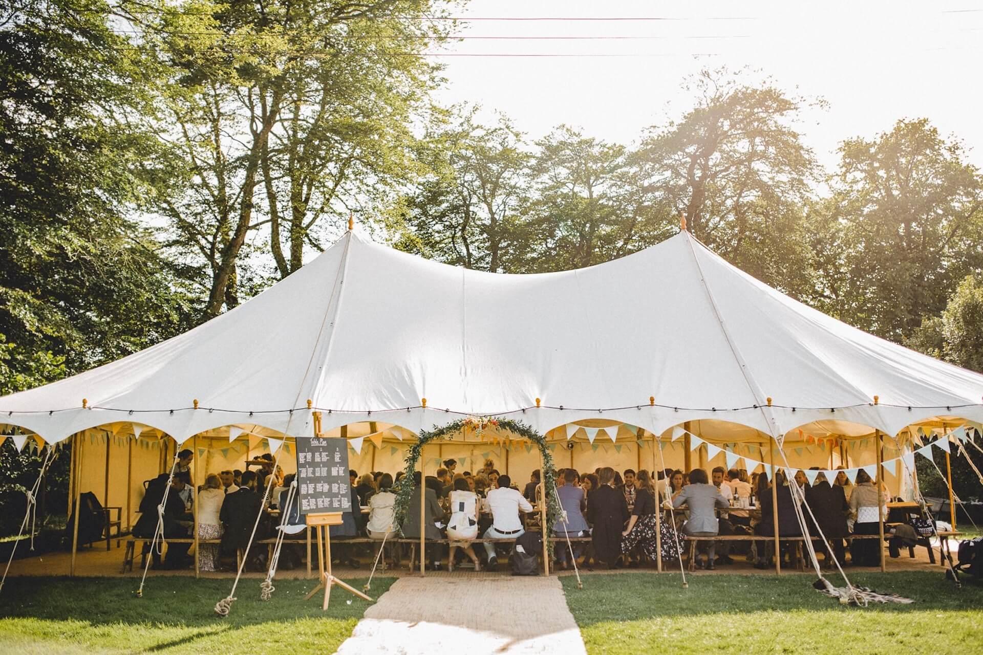 Wedding marquee hire Cornwall