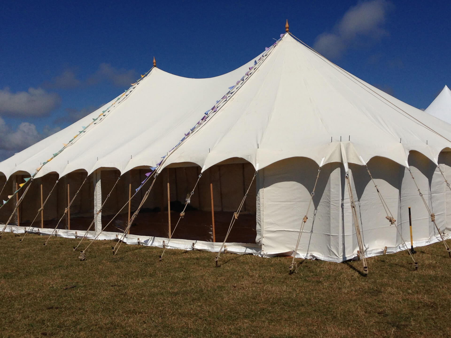 30x50ft Canvas marquee hire