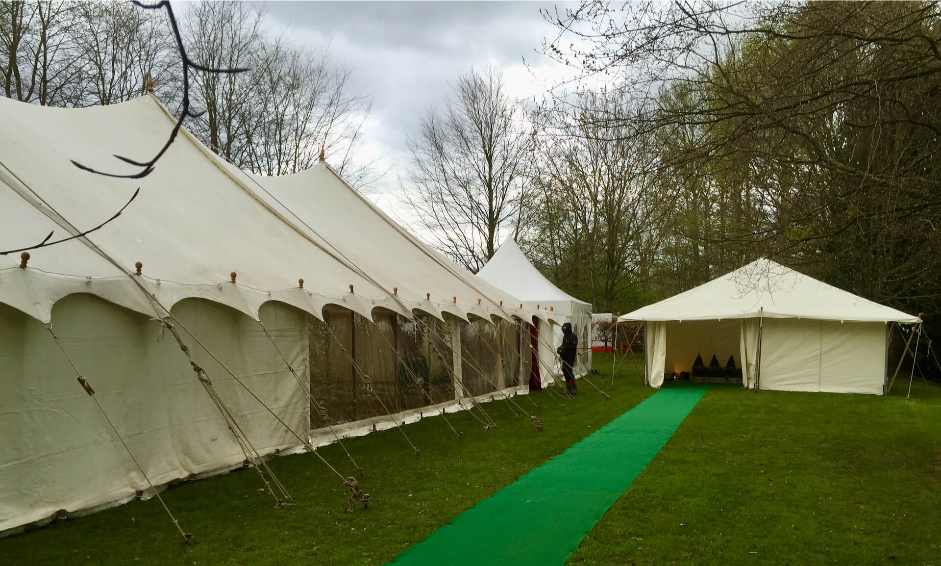 30x70ft petal marquee hire