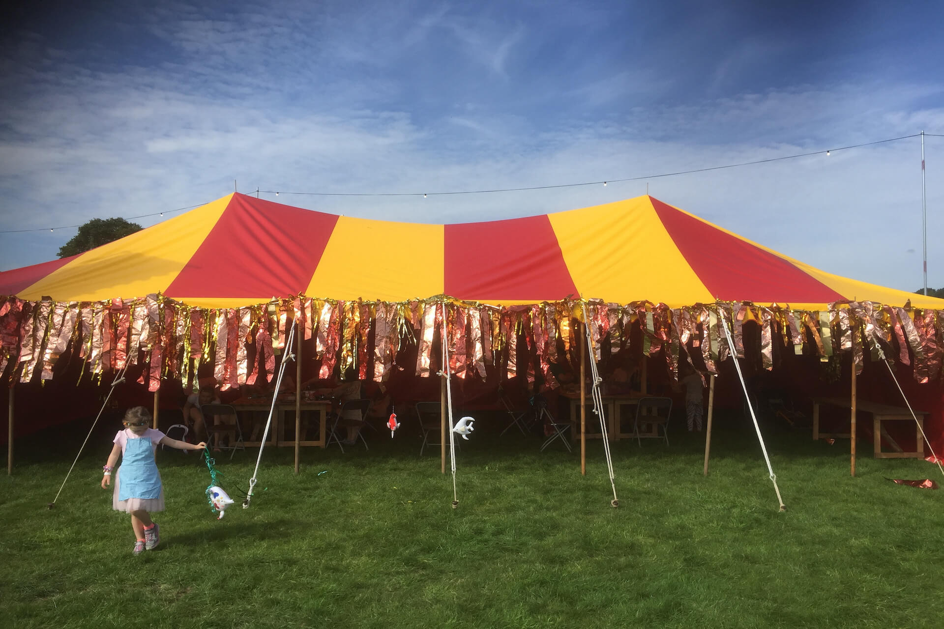 festival kids tent hire Northampton